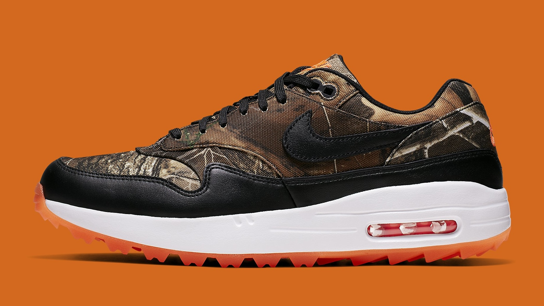 Nike Is Adding Realtree Camo to the Air Max 1 Golf Shoe