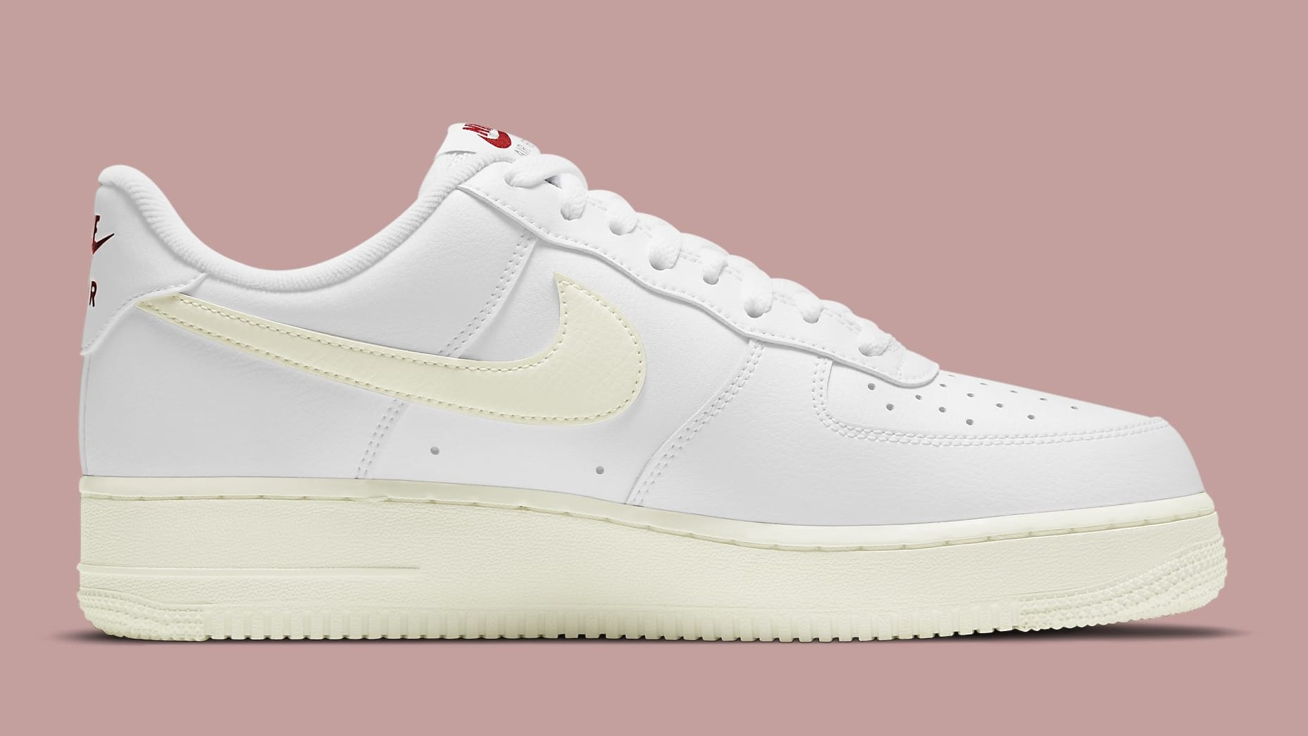 Nike Air Force 1 Low Valentine's Day 2021 Release Date DD7117-100 Medial