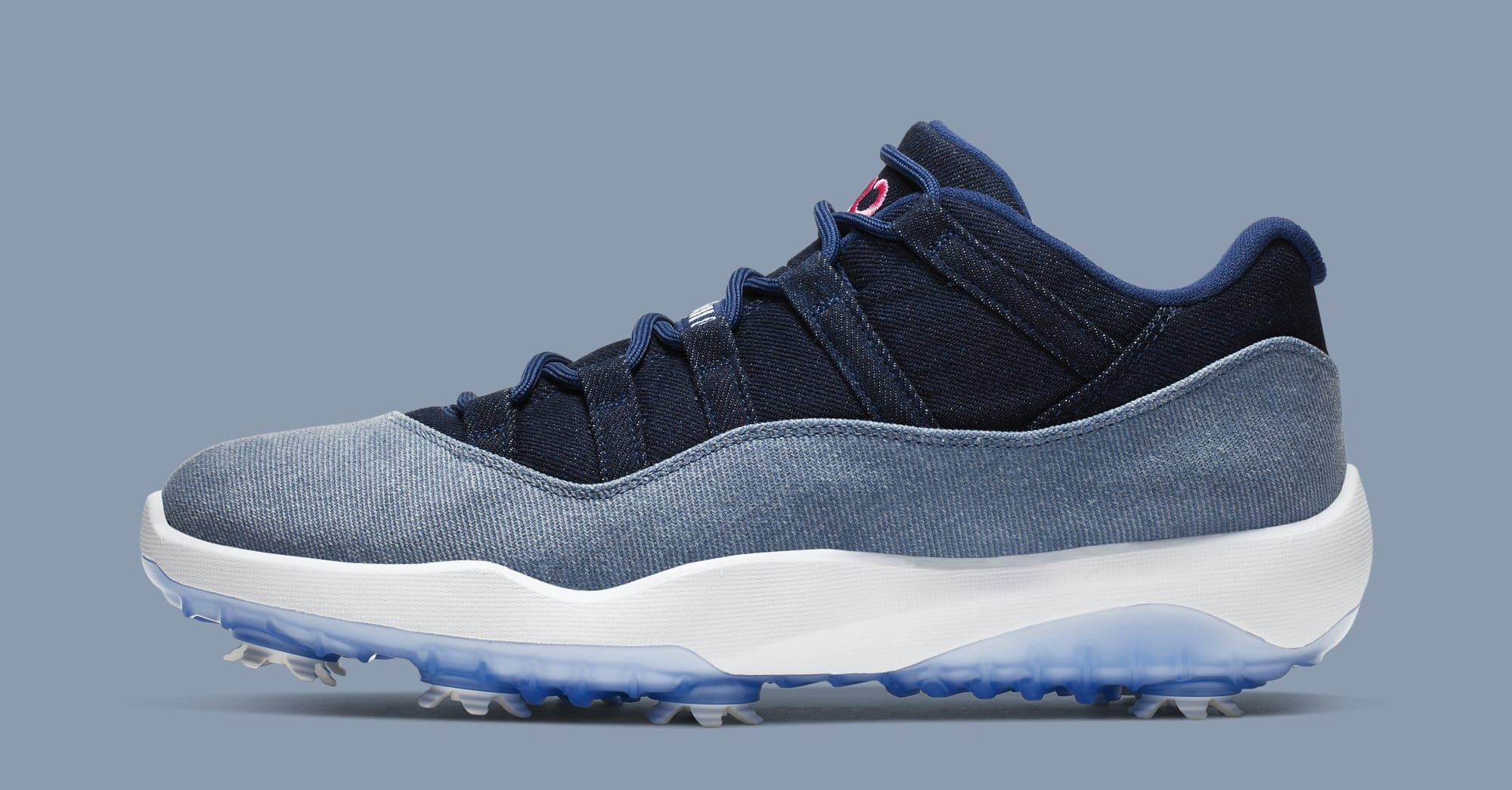 Air Jordan 11 Golf 'Denim' AQ0963-400 (Lateral)