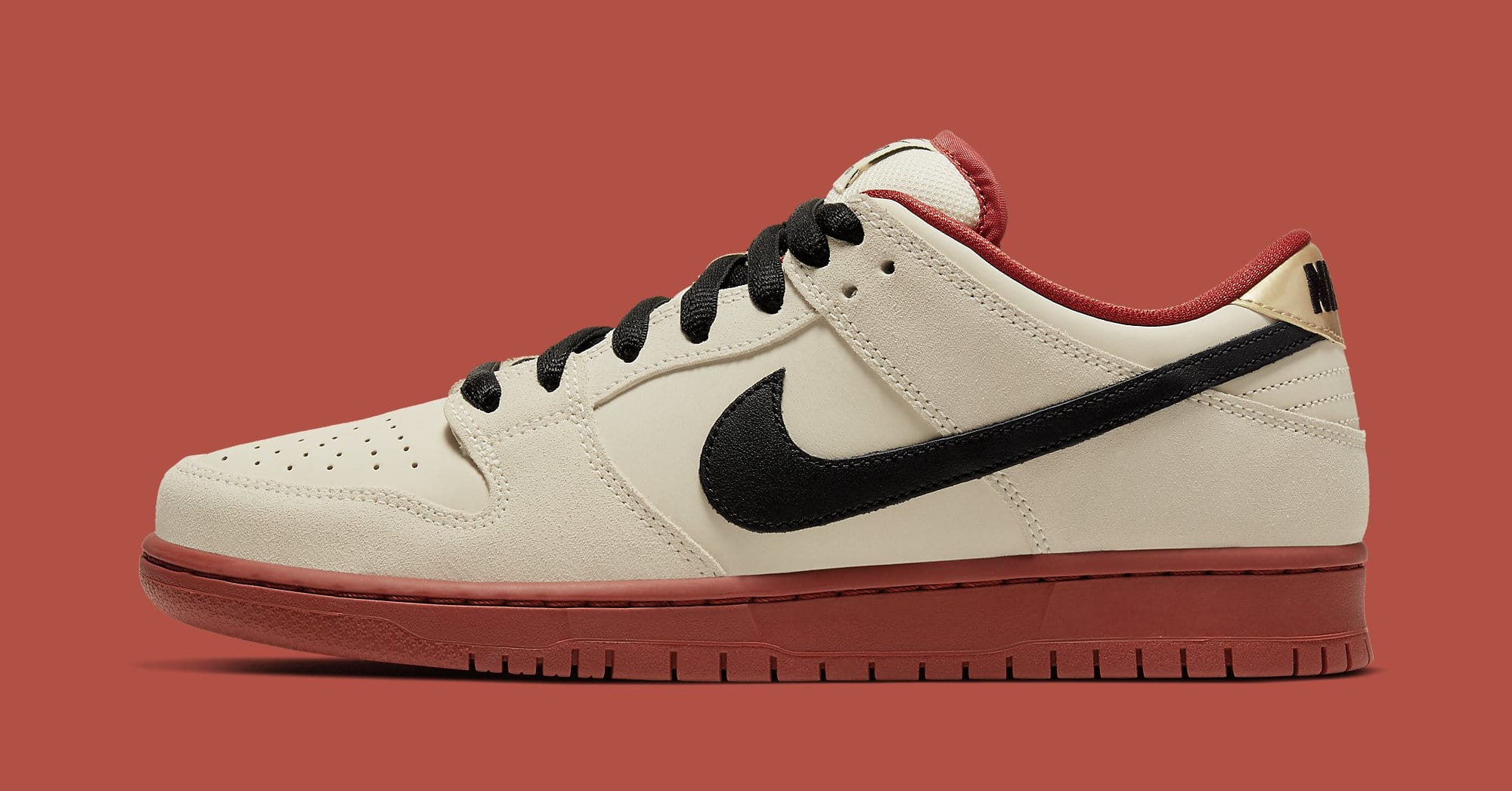 Nike SB Dunk Low 'Muslin' BQ6817-100 Lateral