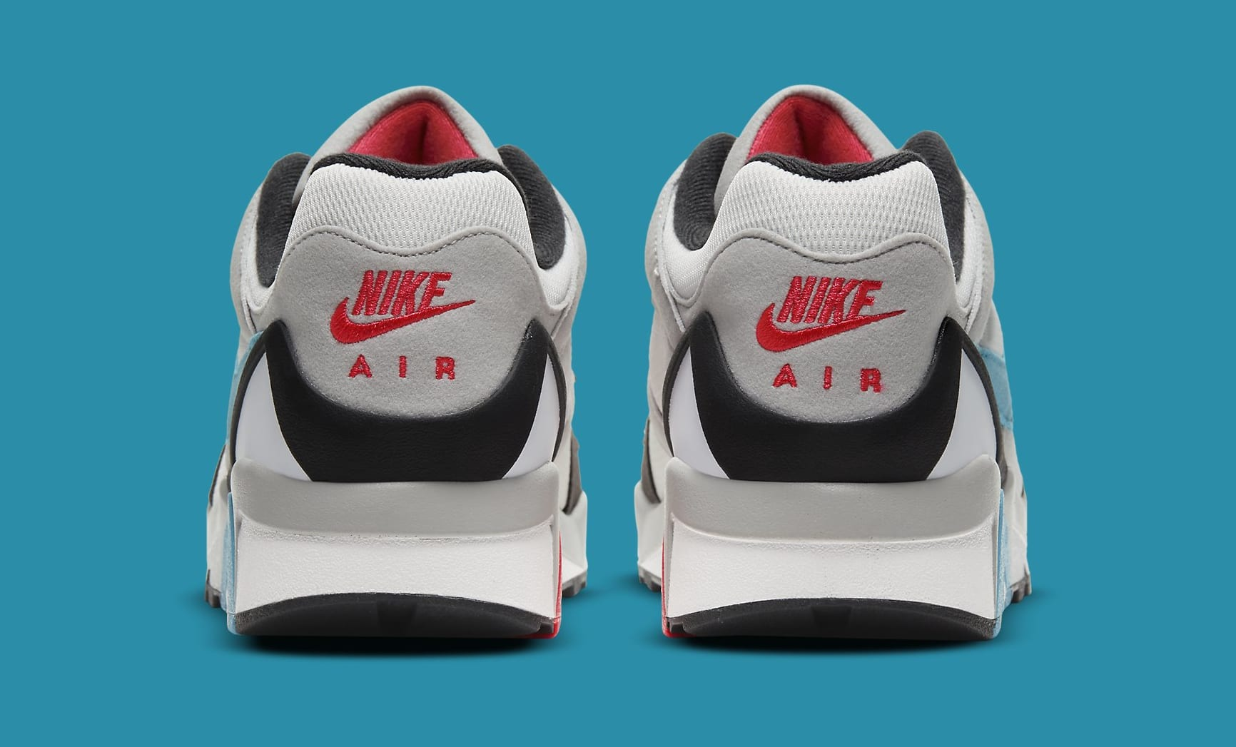 Nike Air Structure Triax 91 'Neo Teal/Infrared' CV3492-100 Heel