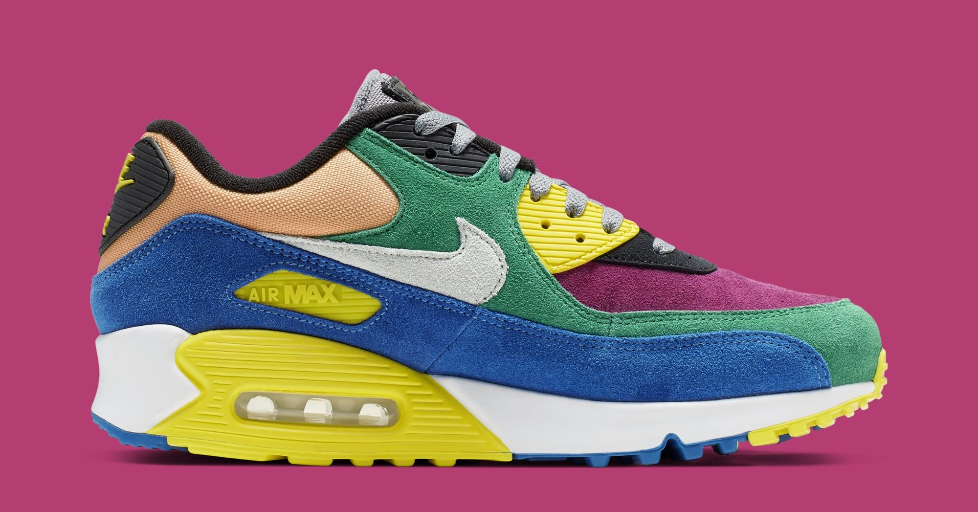 64e674a8c2d Nike Air Max 90 QS 'Viotech 2.0' Lucid Green/Game Royal CD0917-300 ...
