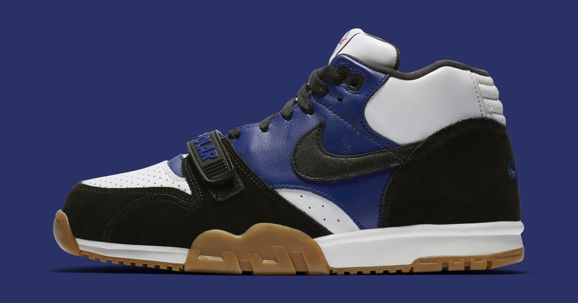 Polar Skate Co. x Nike SB Air Trainer 1 CI6892-001 (Lateral)