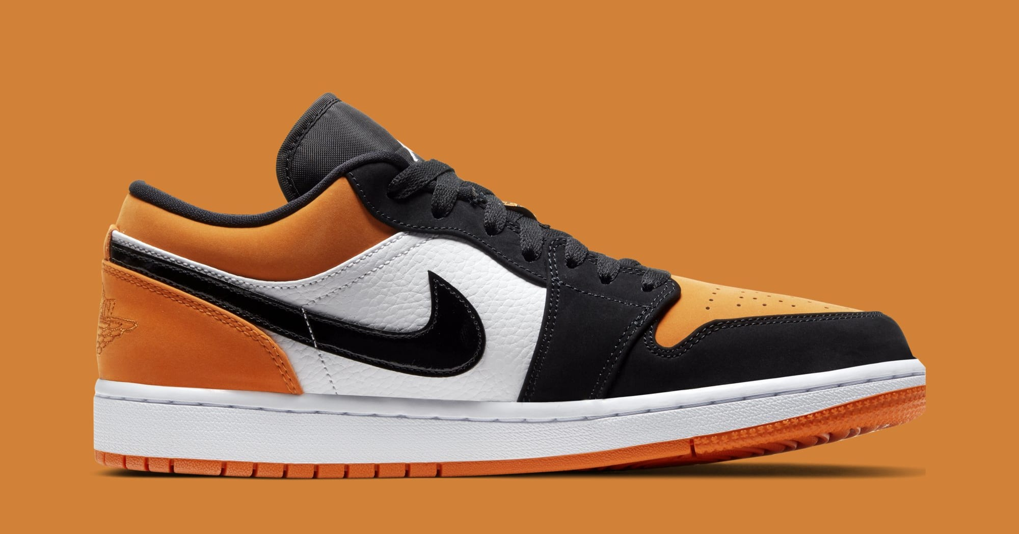 release date 4c626 c2c14 Air Jordan 1 Low 'Shattered Backboard' Black/White-Starfish ...