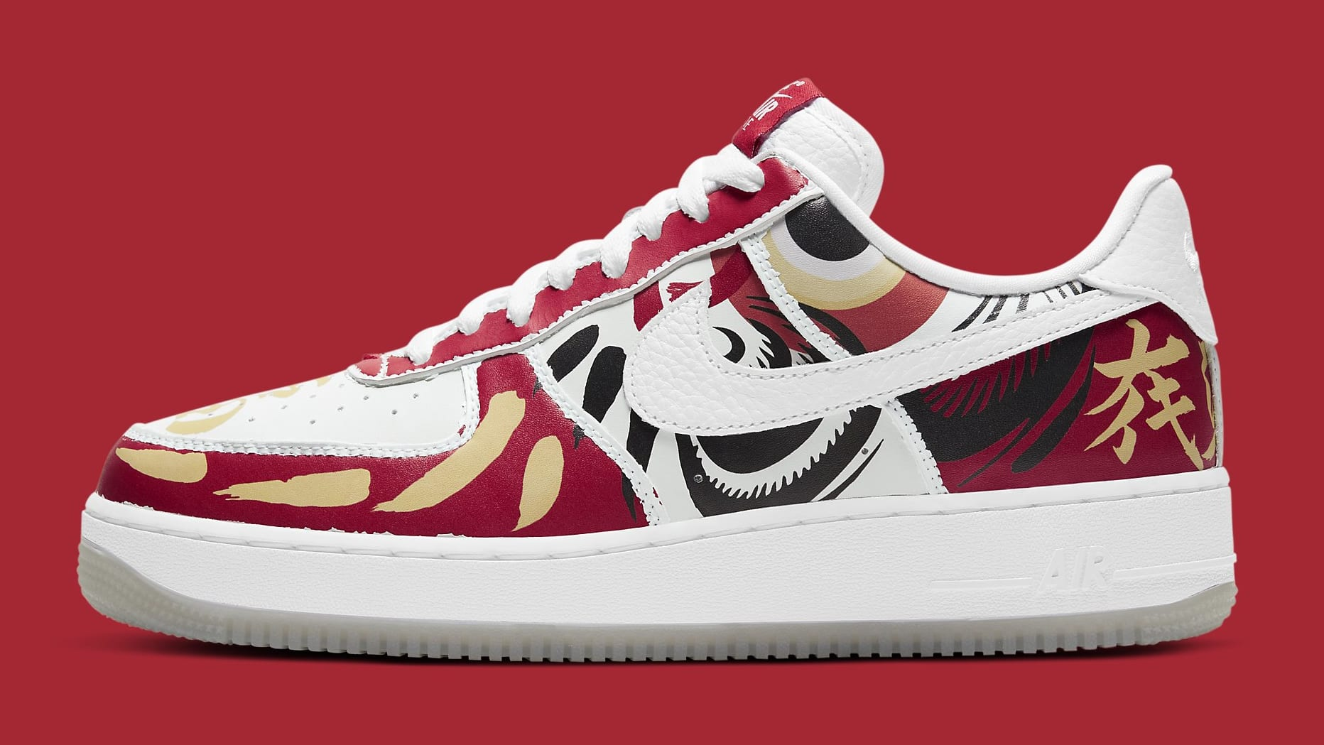BAIT x Nike Air Force 1 Low 'I Believe' DD9941-100 Tear-Away Lateral