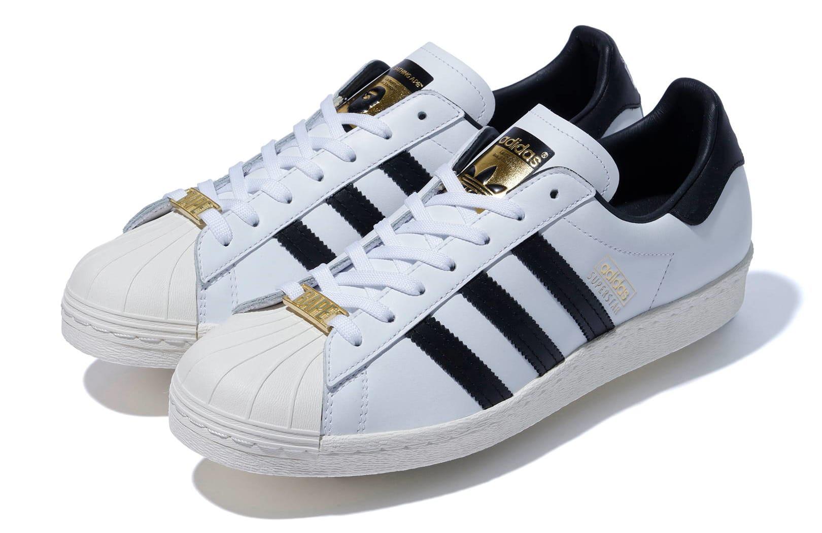 Bape x Adidas Originals Superstar Pair