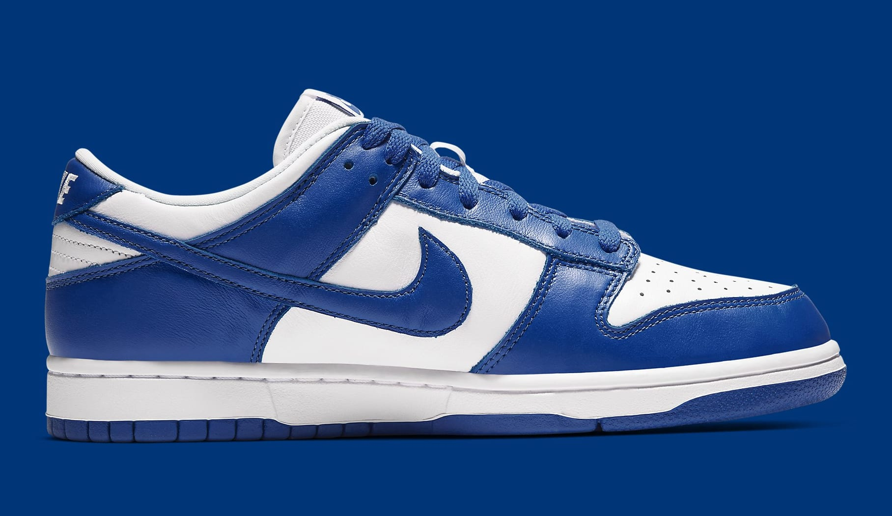 Nike Dunk Low Kentucky Release Date CU1726-100 Medial