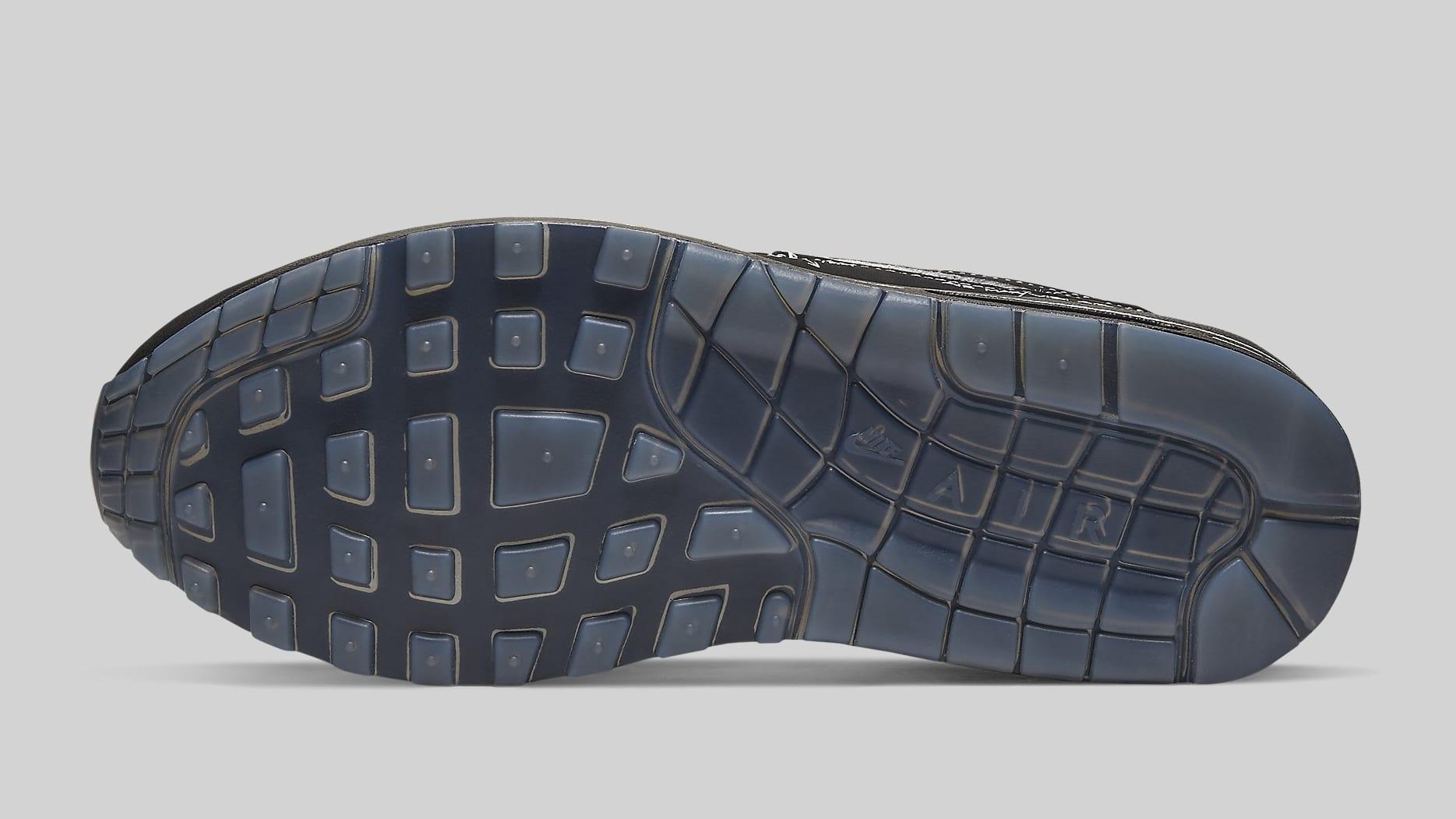 Nike Air Max 1 Black 'Schematic' CJ4286-001 Sole