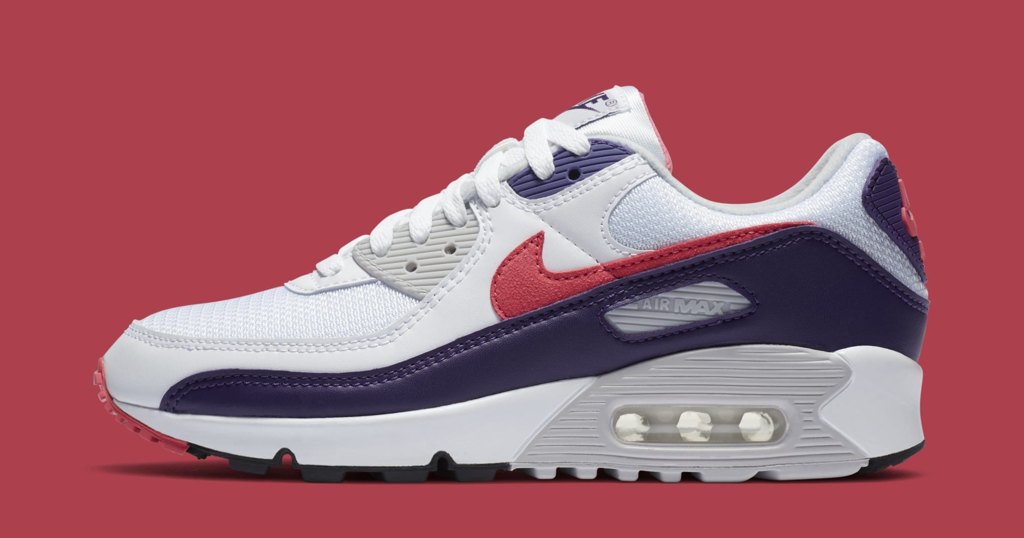 Nike Air Max 90 Women's 'Eggplant' CW1360-100 Lateral