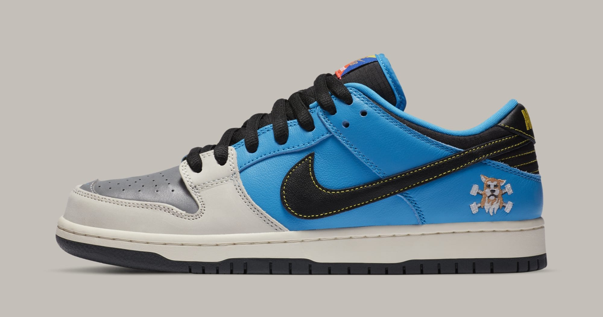Instant Skateboards x Nike SB Dunk Low CZ5128-400 Lateral