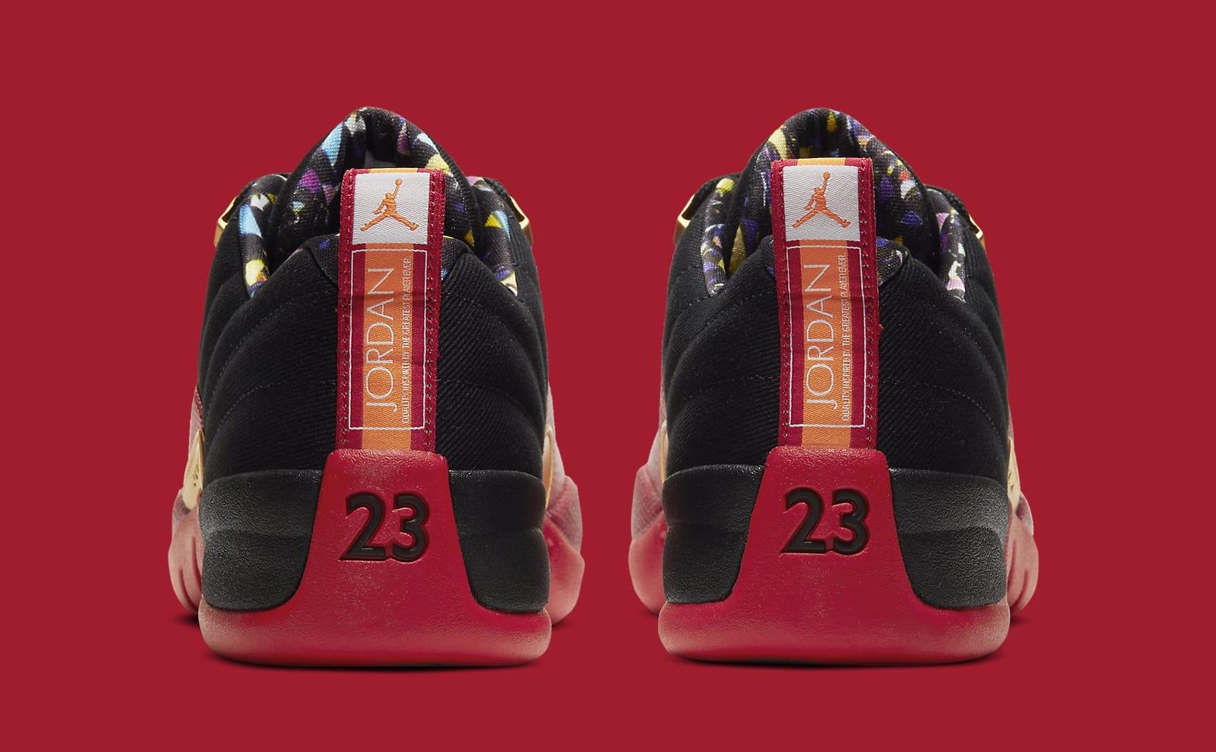 Air Jordan 12 Retro Low 'Super Bowl' DC1059-001 Heel