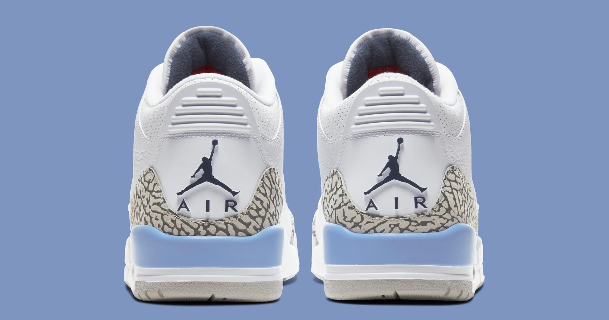 Air Jordan 3 'UNC' CT8532-104 (Heel)