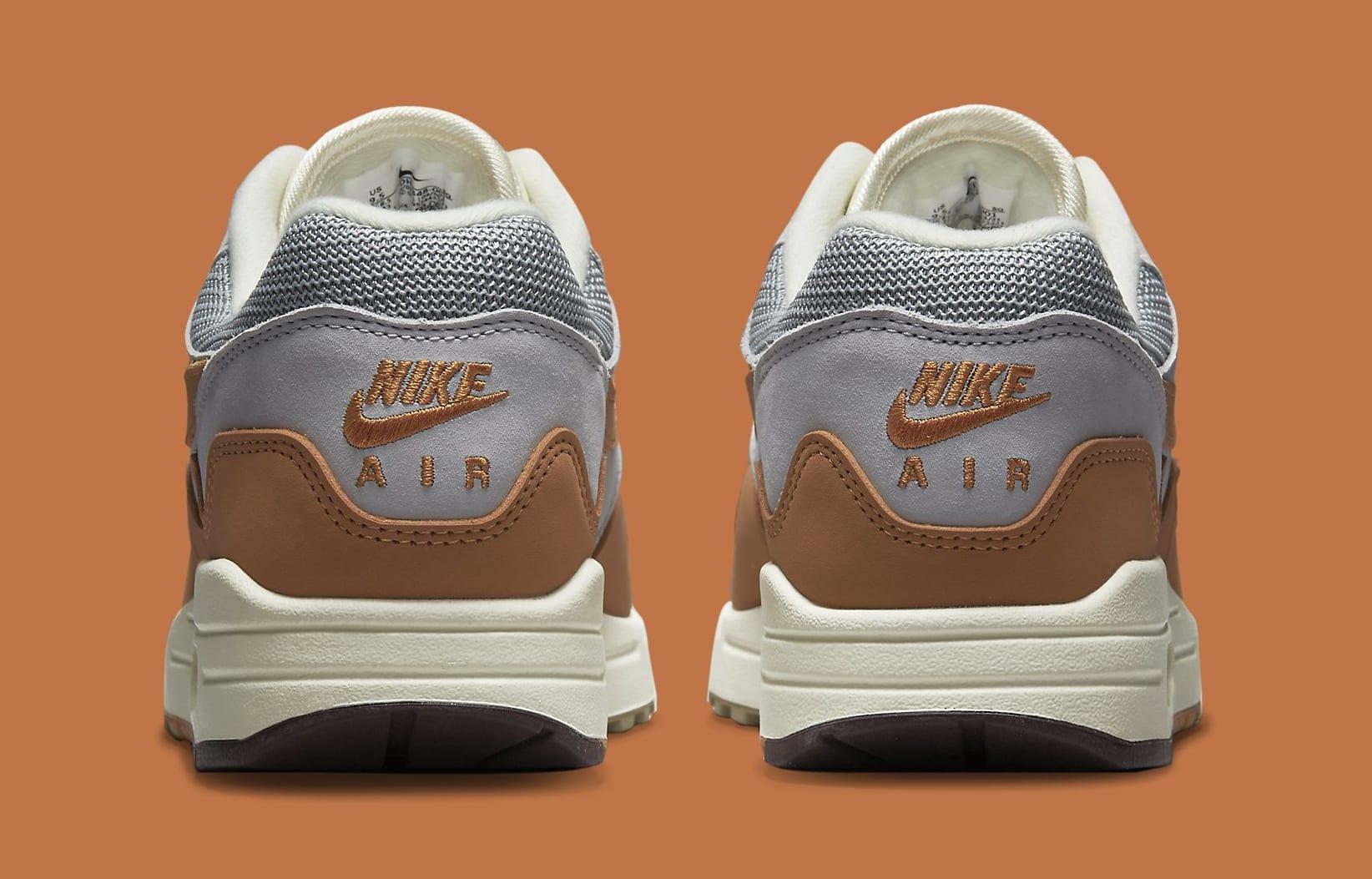 Patta x Nike Air Max 1 'Monarch' DH1348-001 Heel