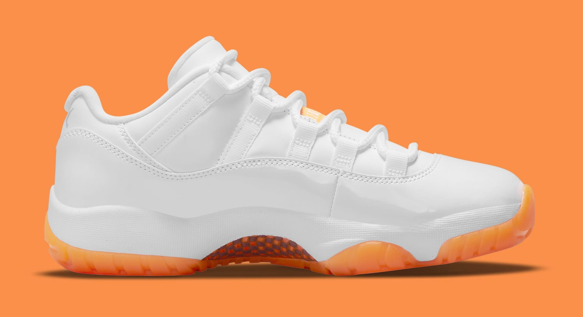 Air Jordan 11 Retro Low Women's 'Citrus' AH7860-139 Medial