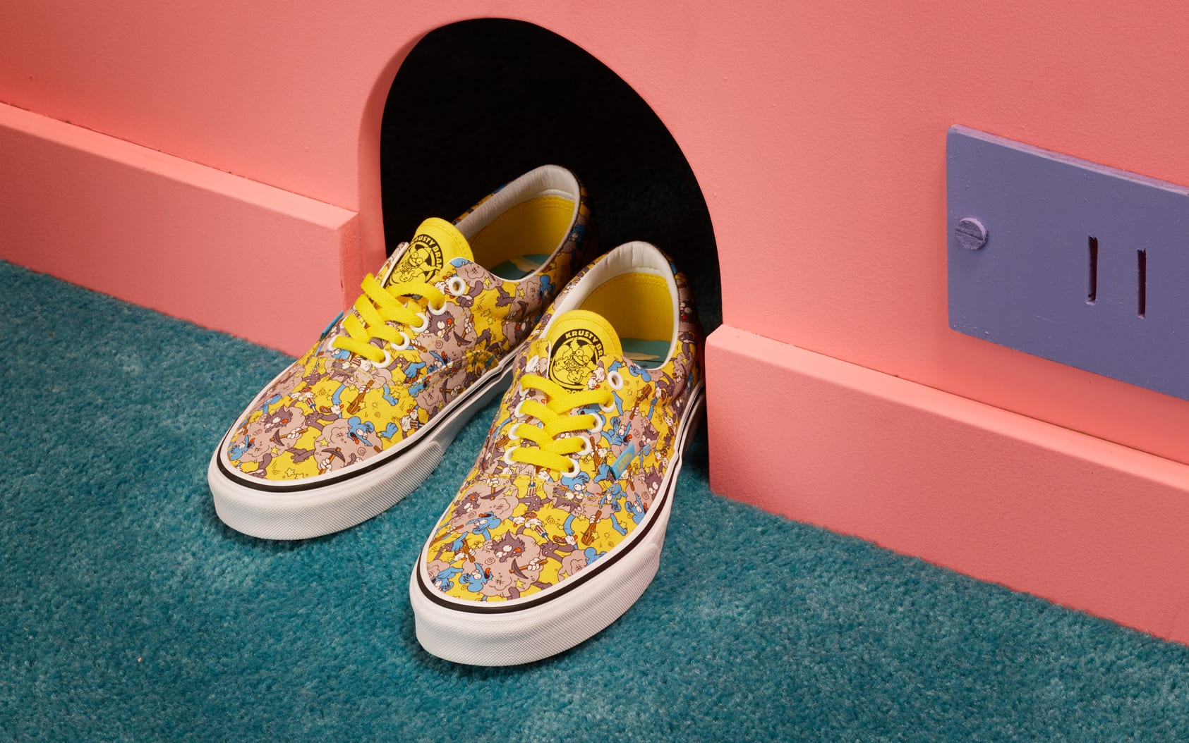 The Simpsons x Vans Era