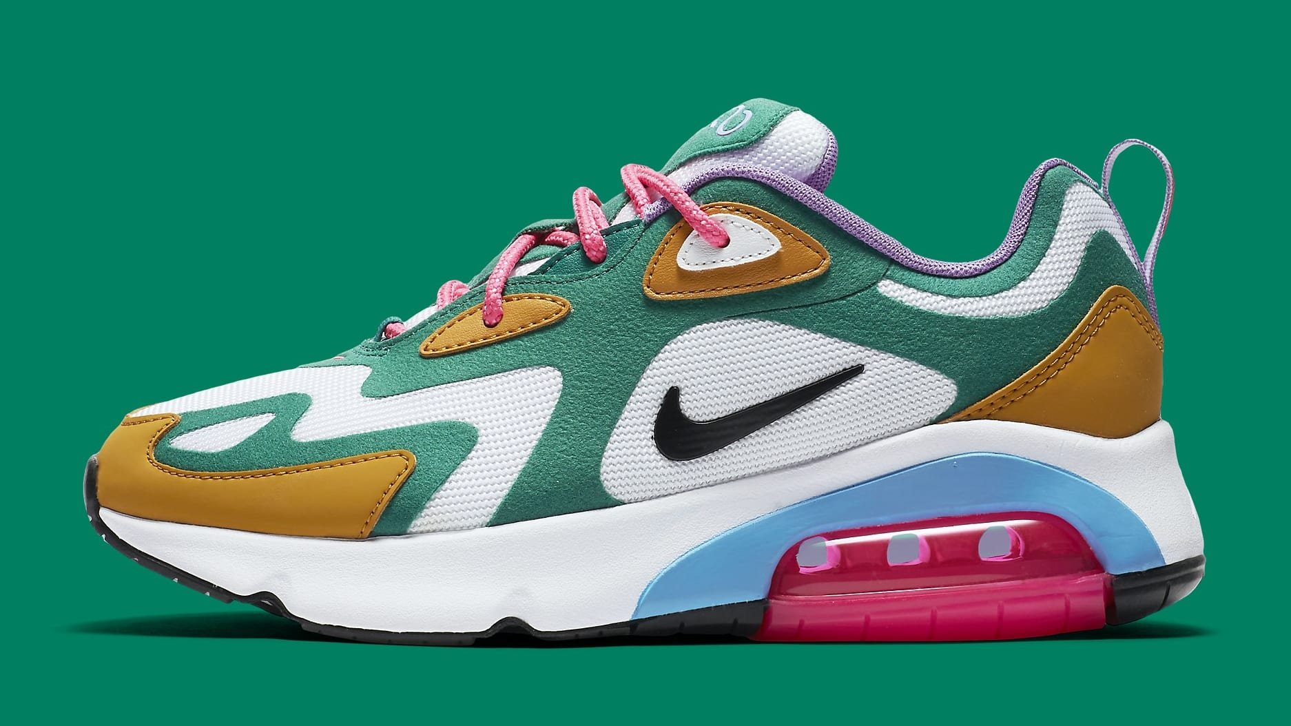 Nike Air Max 200 Women's 'Mystic Green' Release Date AT6175