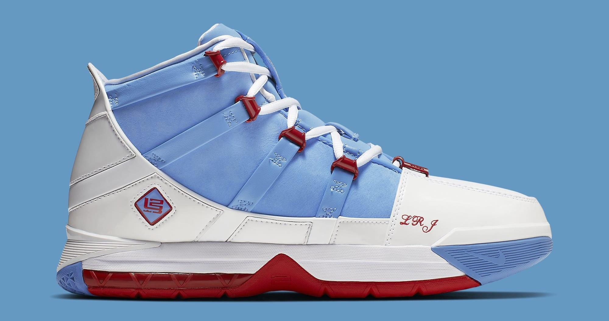 Nike Zoom LeBron 3 QS 'Houston All-Star' AO2434-400 Medial