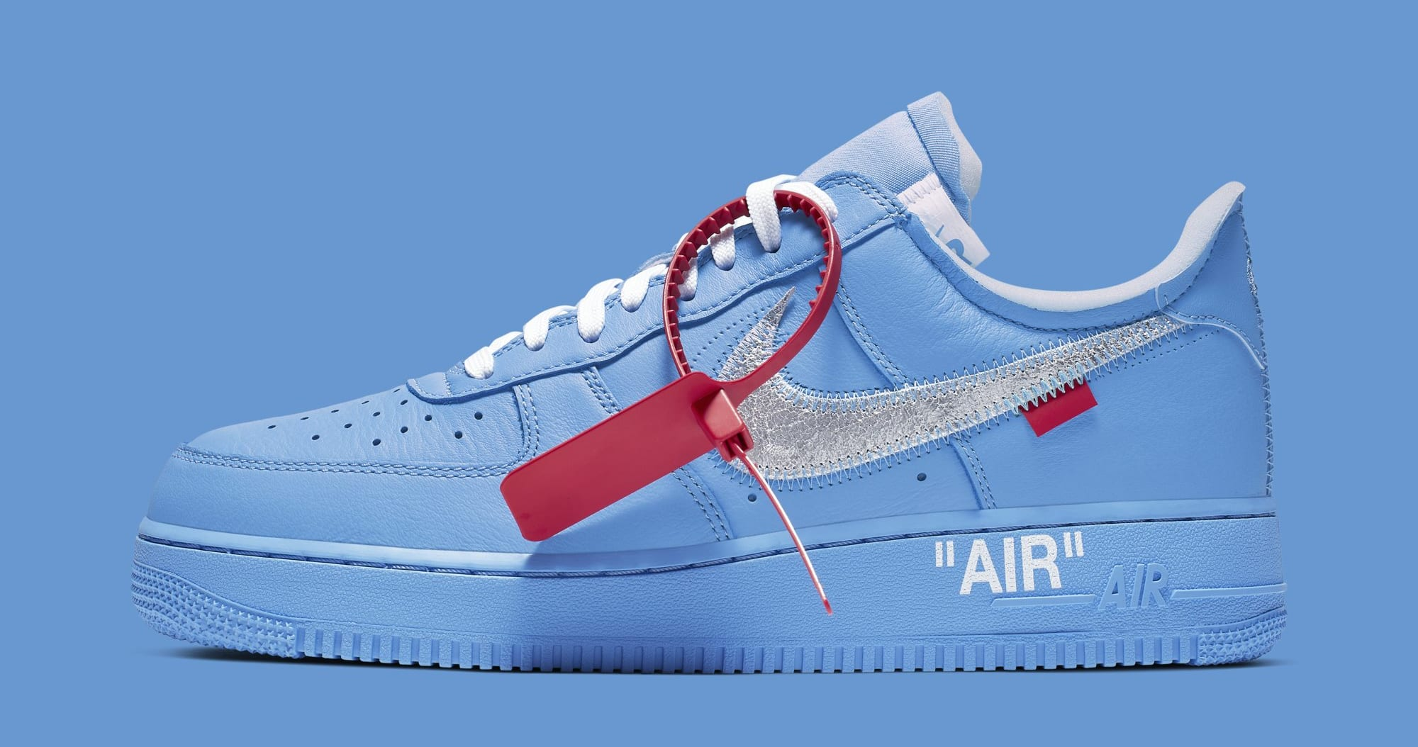 Off-White x Nike Air Force 1 Low 'MCA Chicago' CI1173-400 (Lateral)