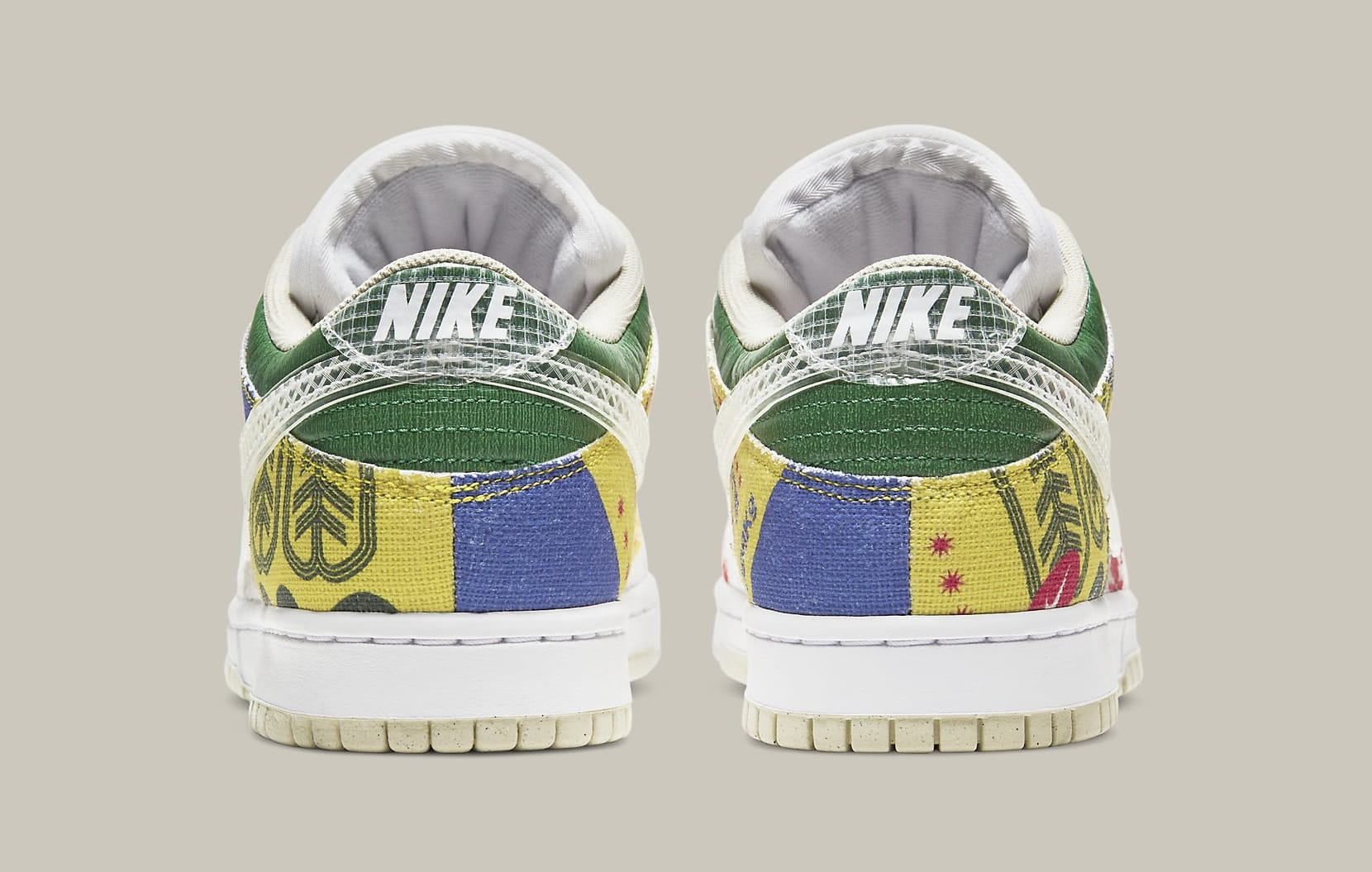 Nike Dunk Low 'City Market' DA6125-900 Heel