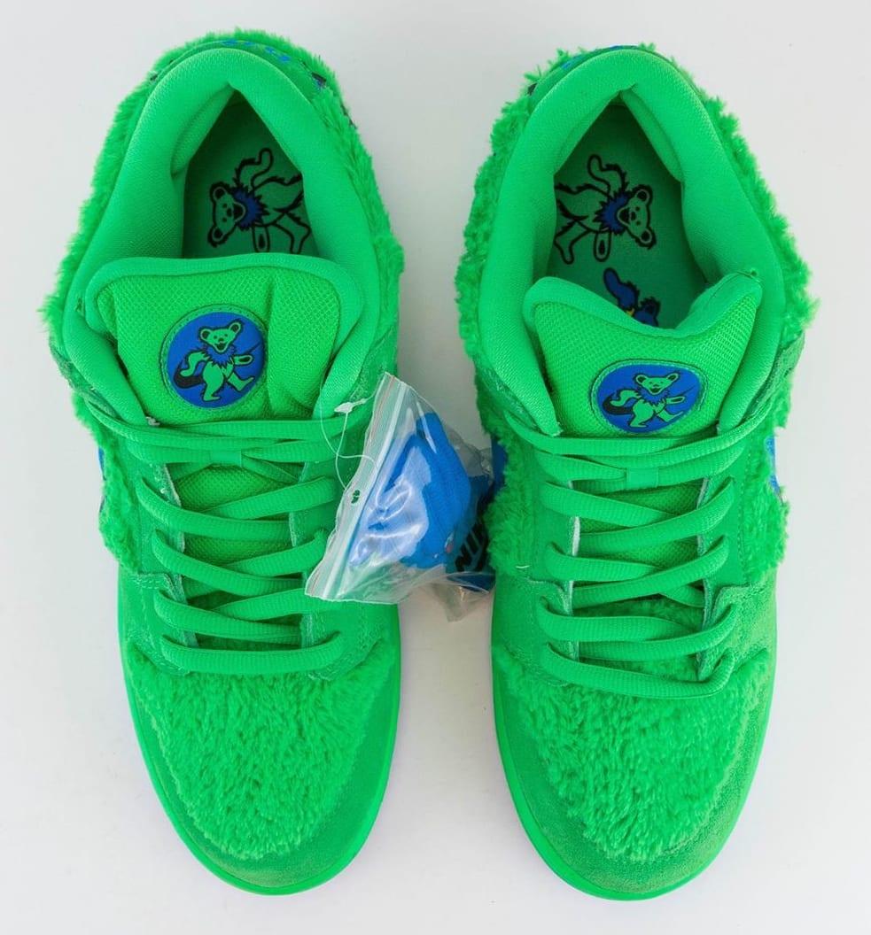 Nike SB Dunk Low Pro QS 'Grateful Dead' Green Spark/Soar CJ5378-300 Top