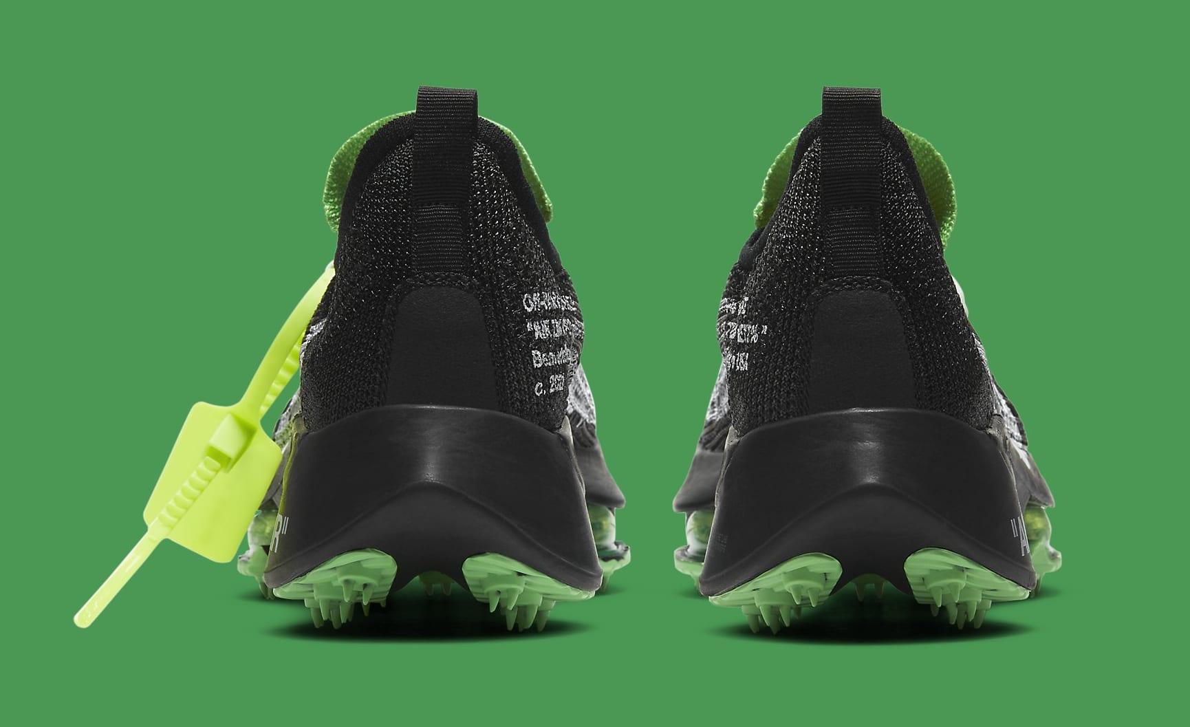 Off-White x Nike Air Zoom Tempo Next% CV0697-001 Heel