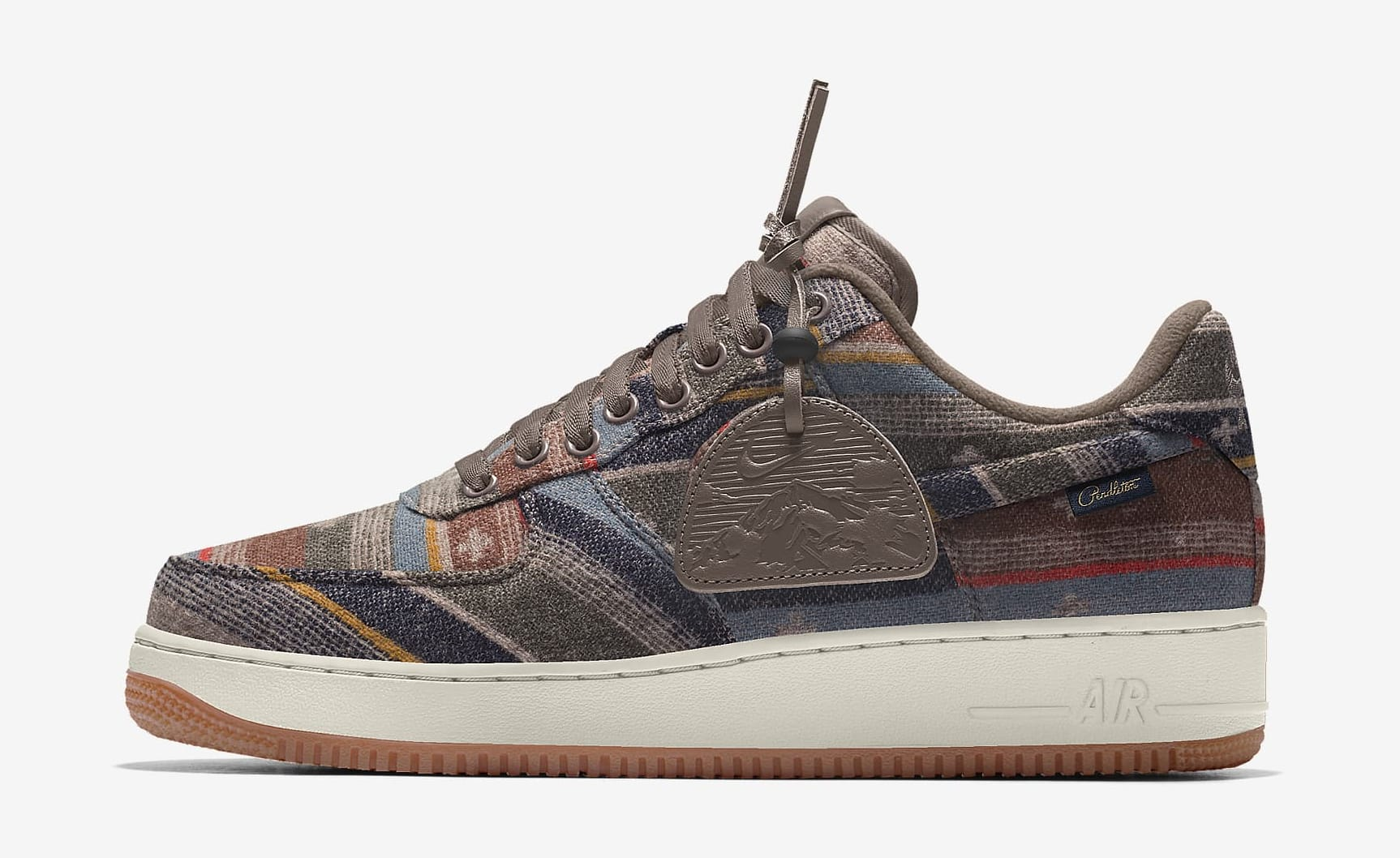 Nike Pendleton Air Force 1 Low By You Lateral