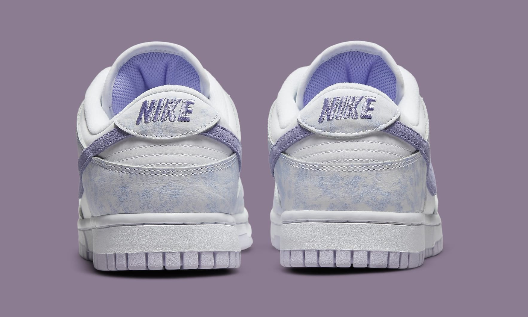 Nike Dunk Low Women's 'Purple Pulse' DM9467-500 Heel