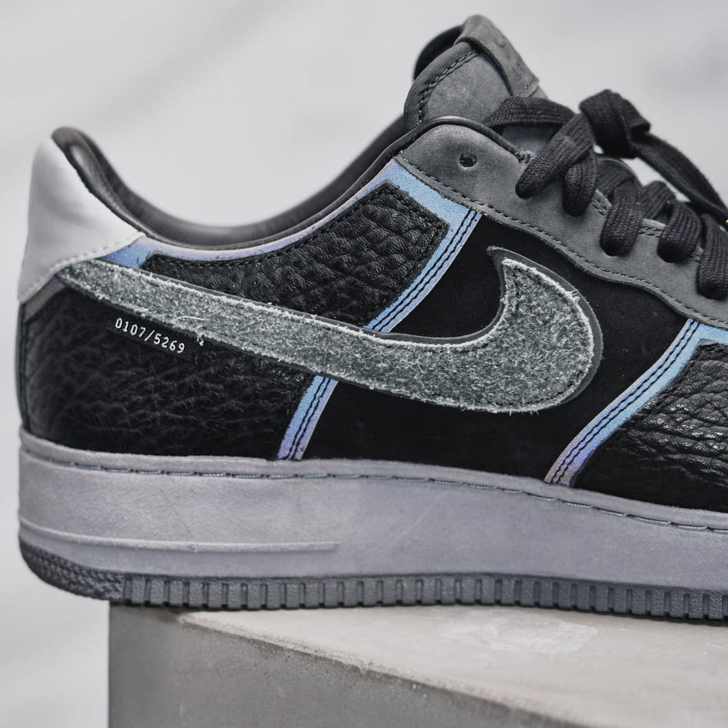 A Ma Maniere x Nike Air Force 1 Low Hand Wash Cold Detail