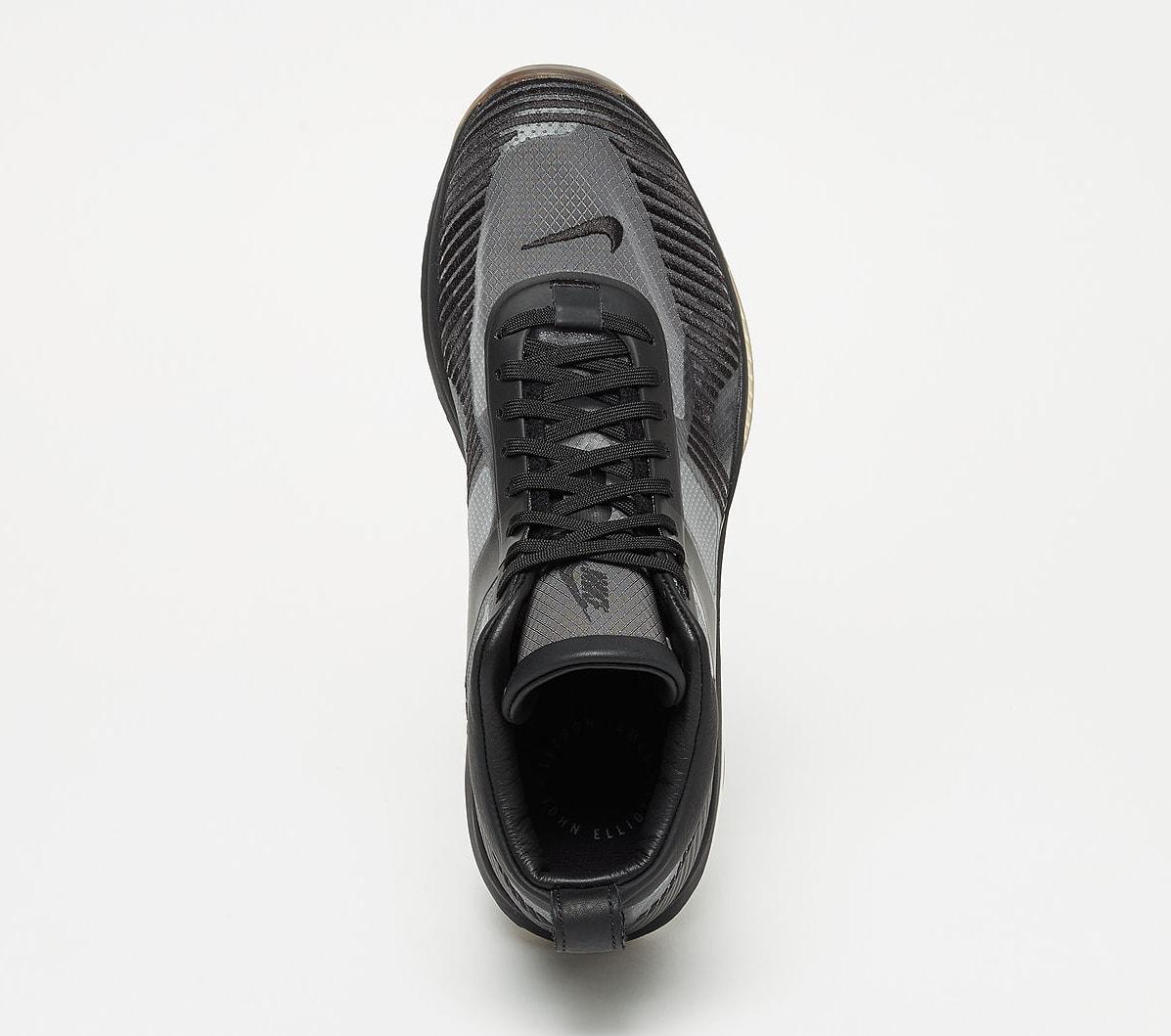 John Elliott x Nike LeBron Icon QS 'Black/Gum' AQ0114-001 (Top)
