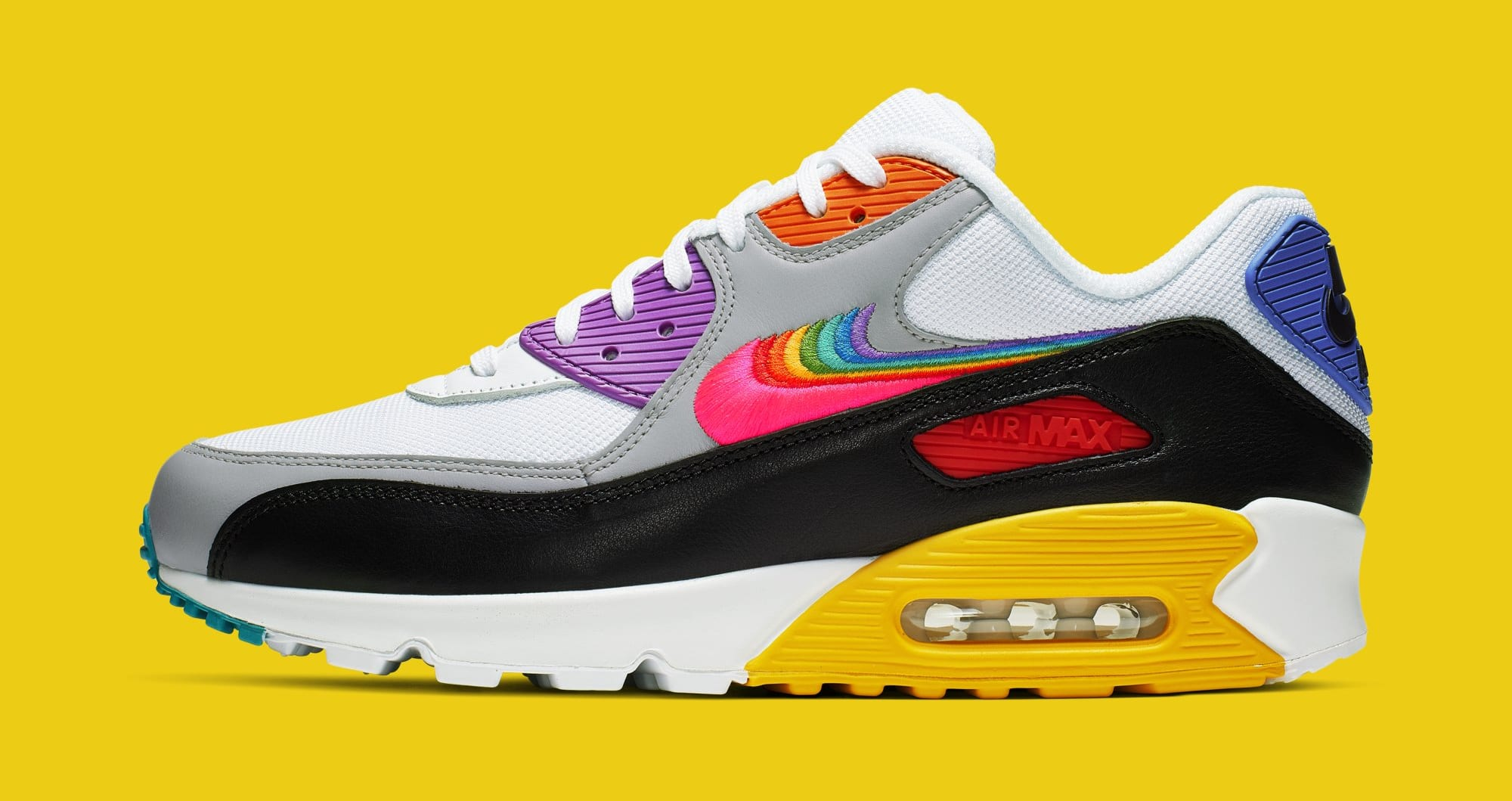 Nike Air Max 90 'Be True' CJ5482-100 (Lateral)