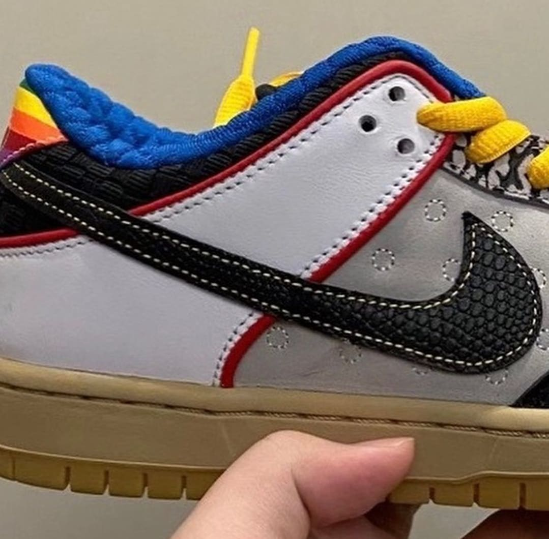 Nike SB Dunk Low What The PRod Release Date Side Detail
