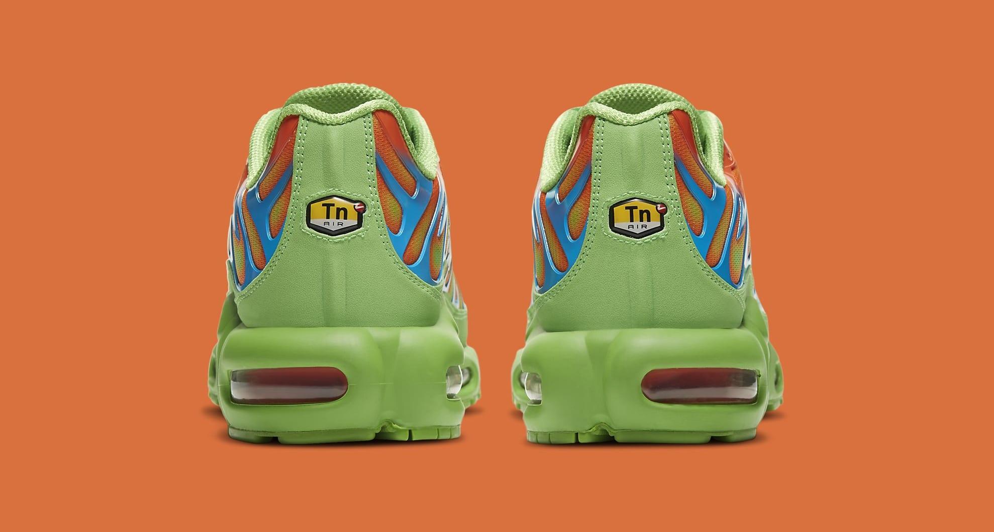 Supreme x Nike Air Max Plus 'Mean Green' DA1472-300 Heel