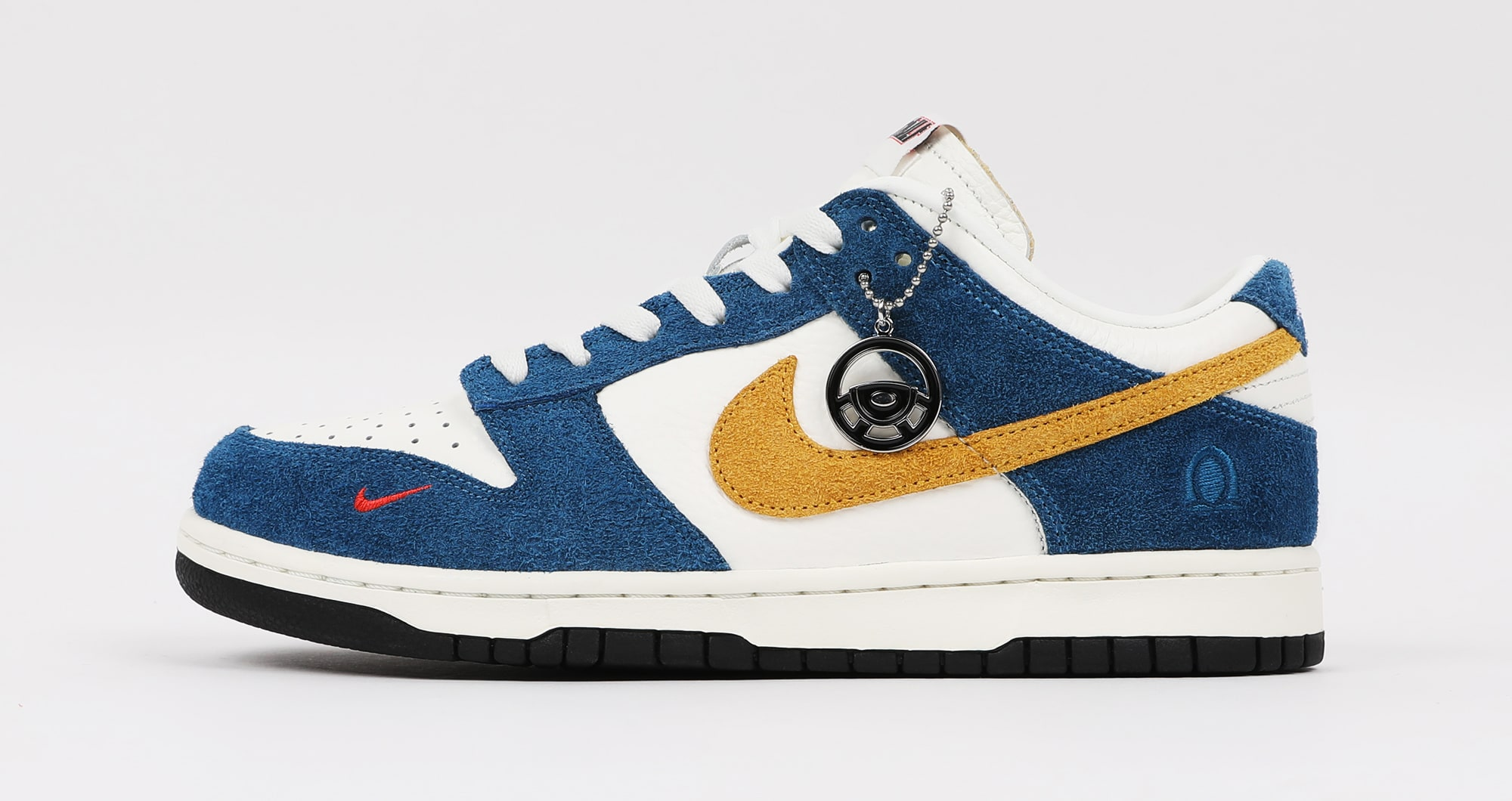 Kasina x Nike Dunk Low 'Industrial Blue' Lateral