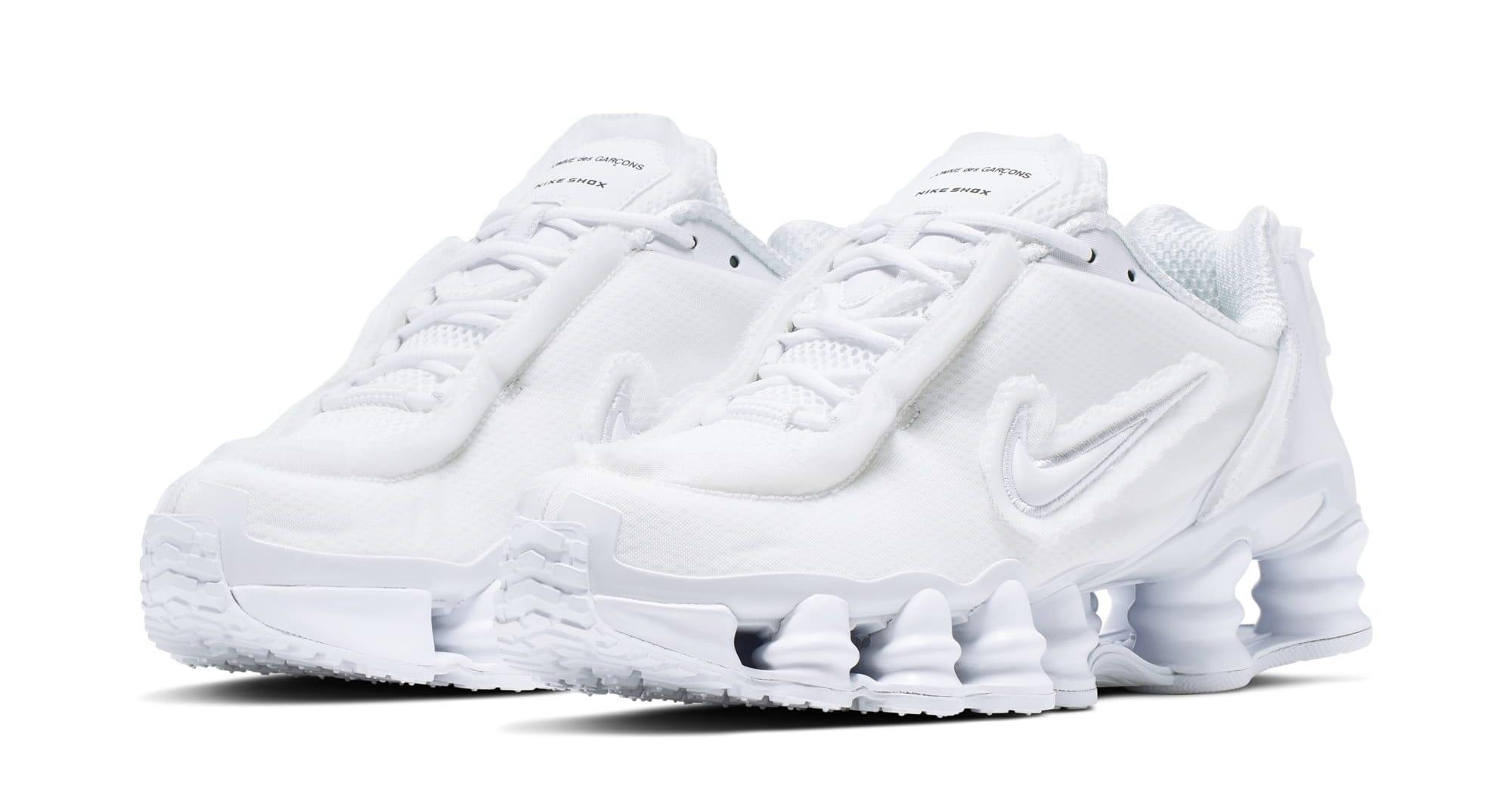 Comme des Garcons x Nike Shox TL (White)