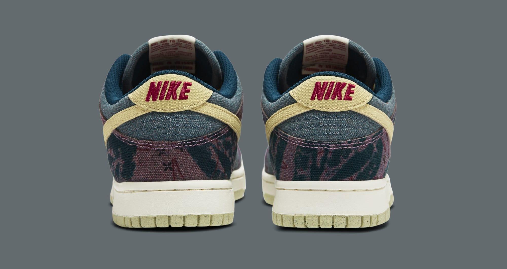 Nike Dunk Low SP 'Lemon Wash' CZ9747-900 Heel