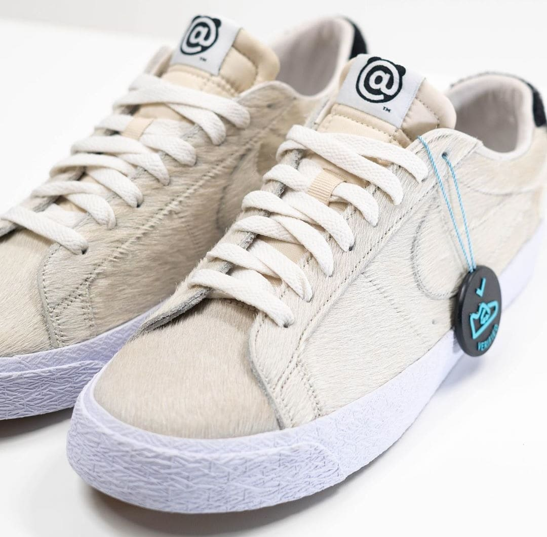 Medicom x Nike SB Blazer Low 'Be@rbrick' Sample CZ4620-200 Front