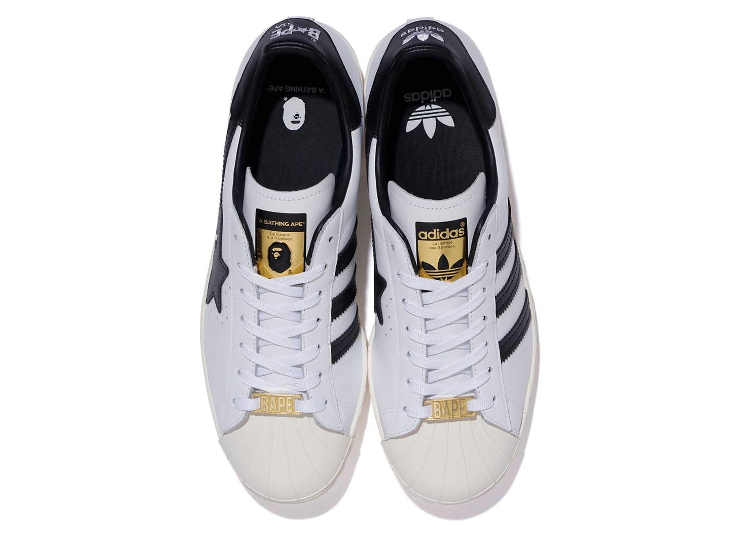Bape x Adidas Originals Superstar Top