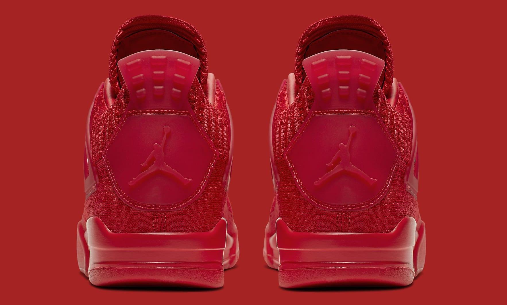 Air Jordan 4 Flyknit 'University Red' AQ3559-600 Heel