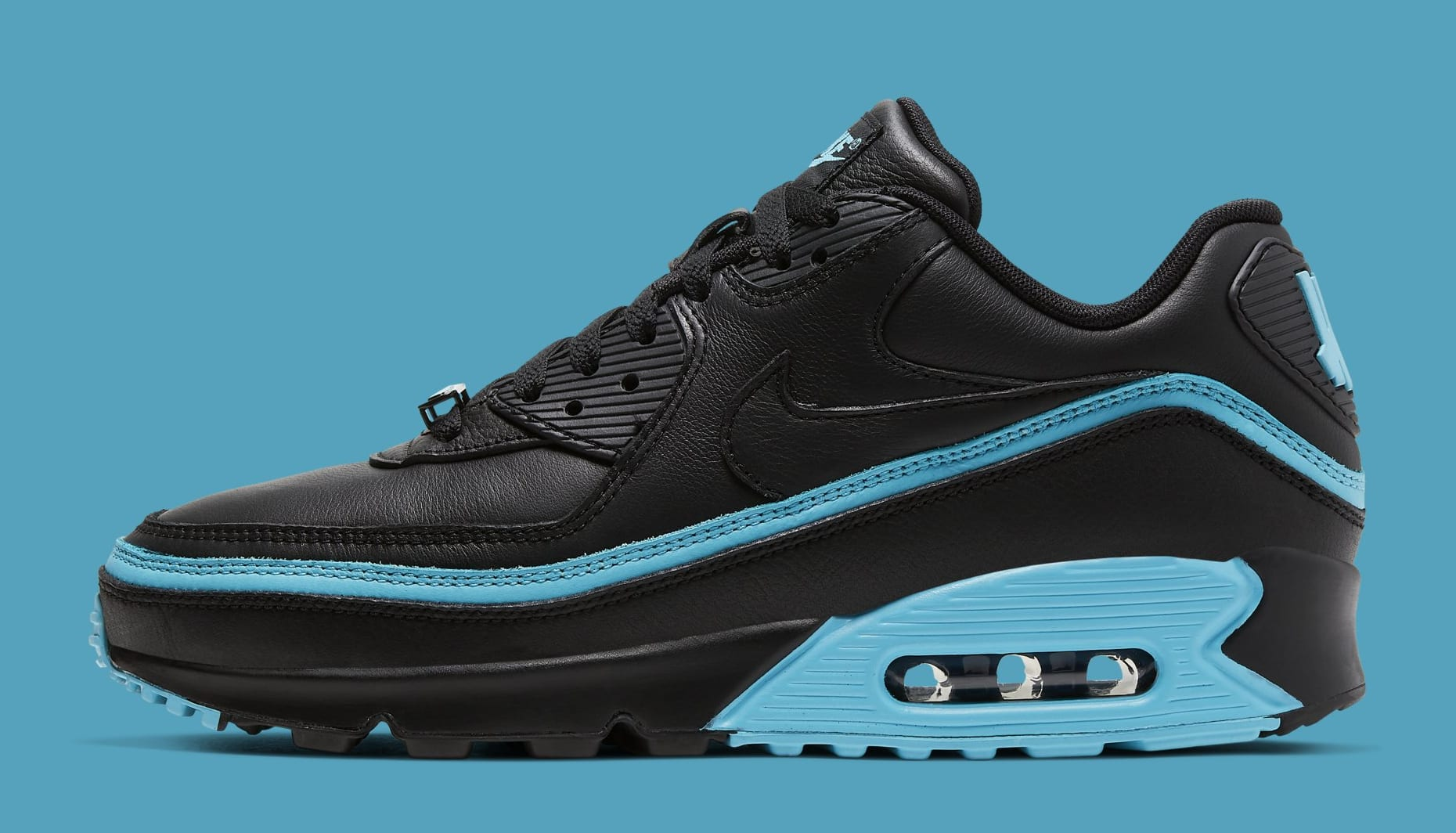 undefeated-nike-air-max-90-black-blue-fury-cj7197-002-lateral