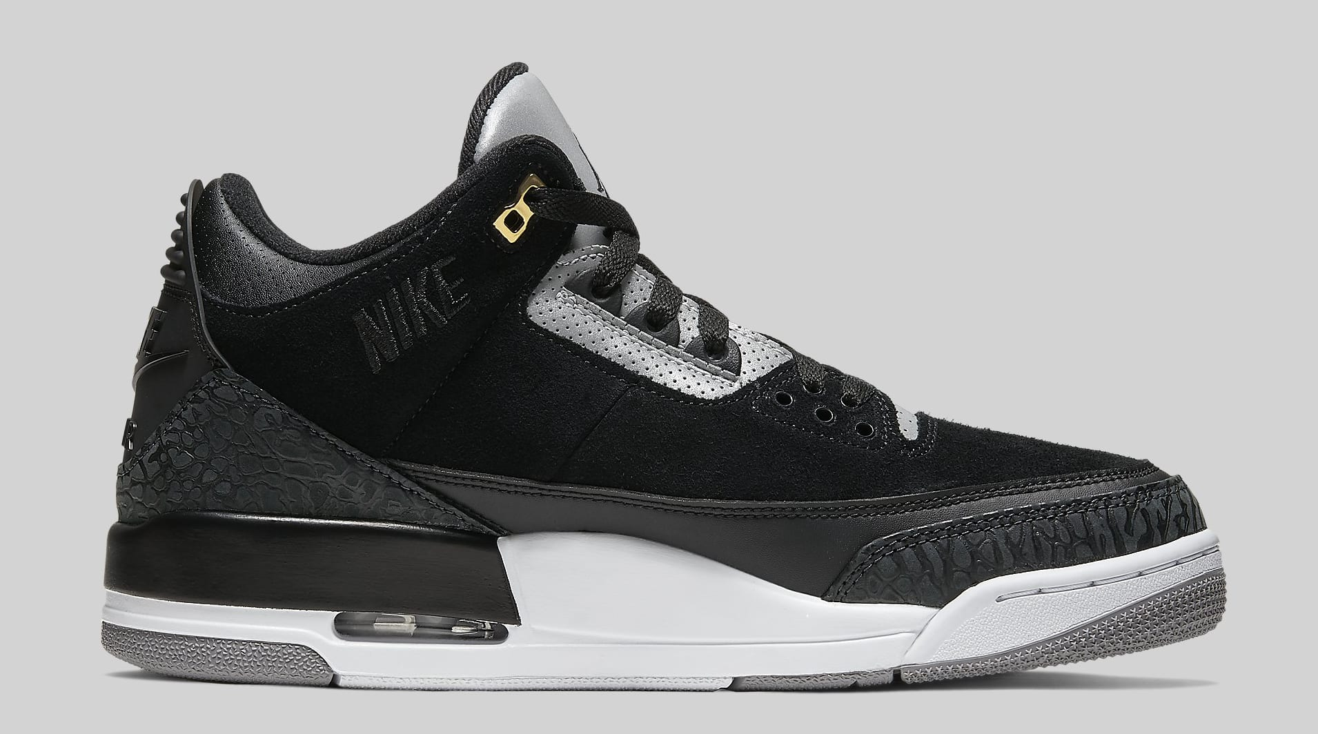 Air Jordan 3 Tinker 'Black Cement' CK4348-007 Medial