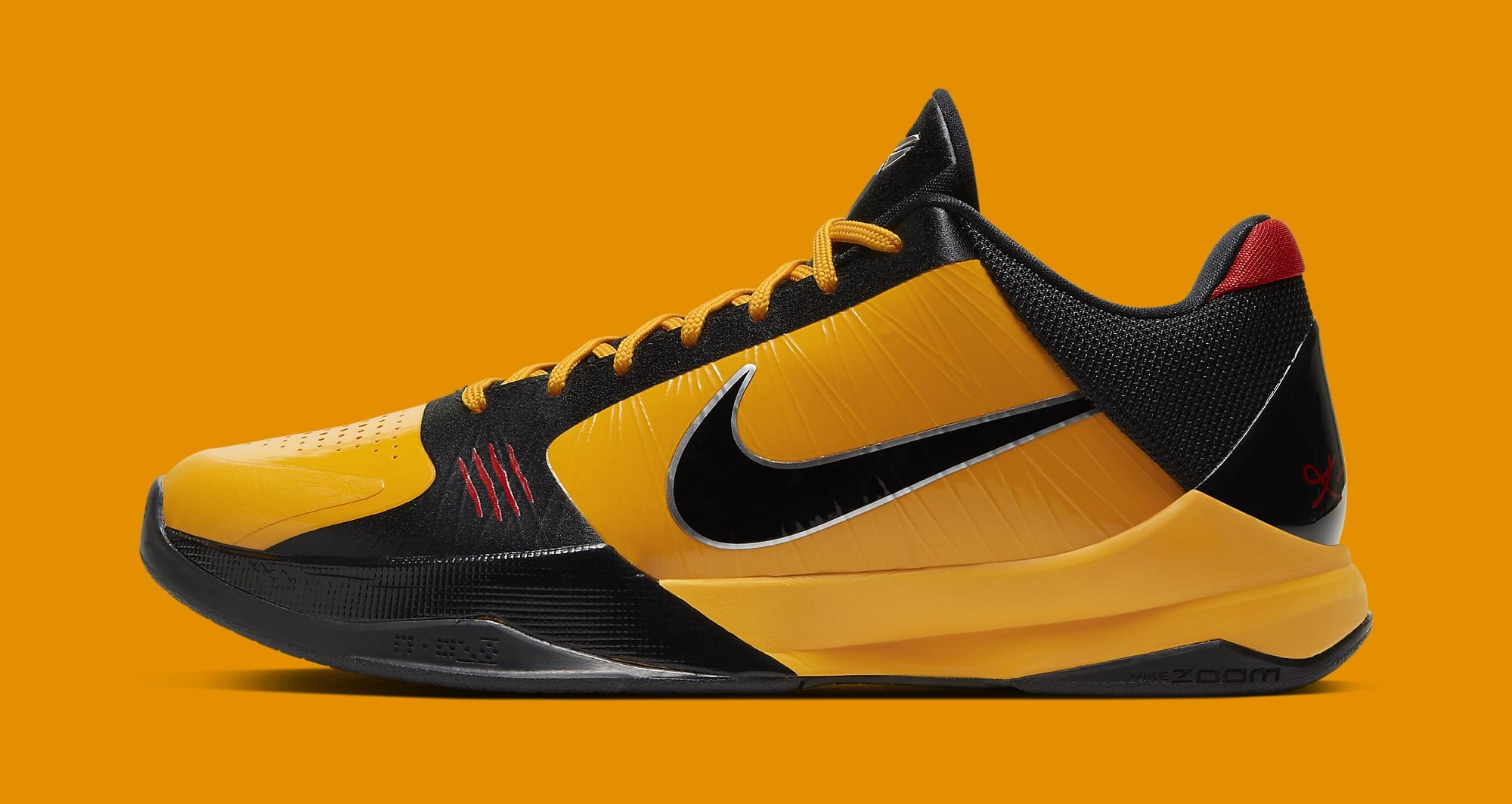 Nike Kobe 5 Protro 'Bruce Lee' CD4991-700 Lateral