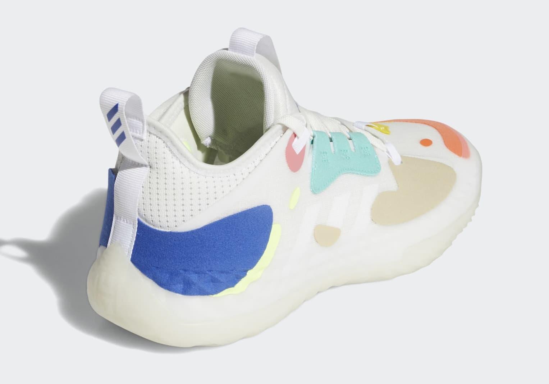 Adidas Harden Vol. 5 FZ1071 Heel