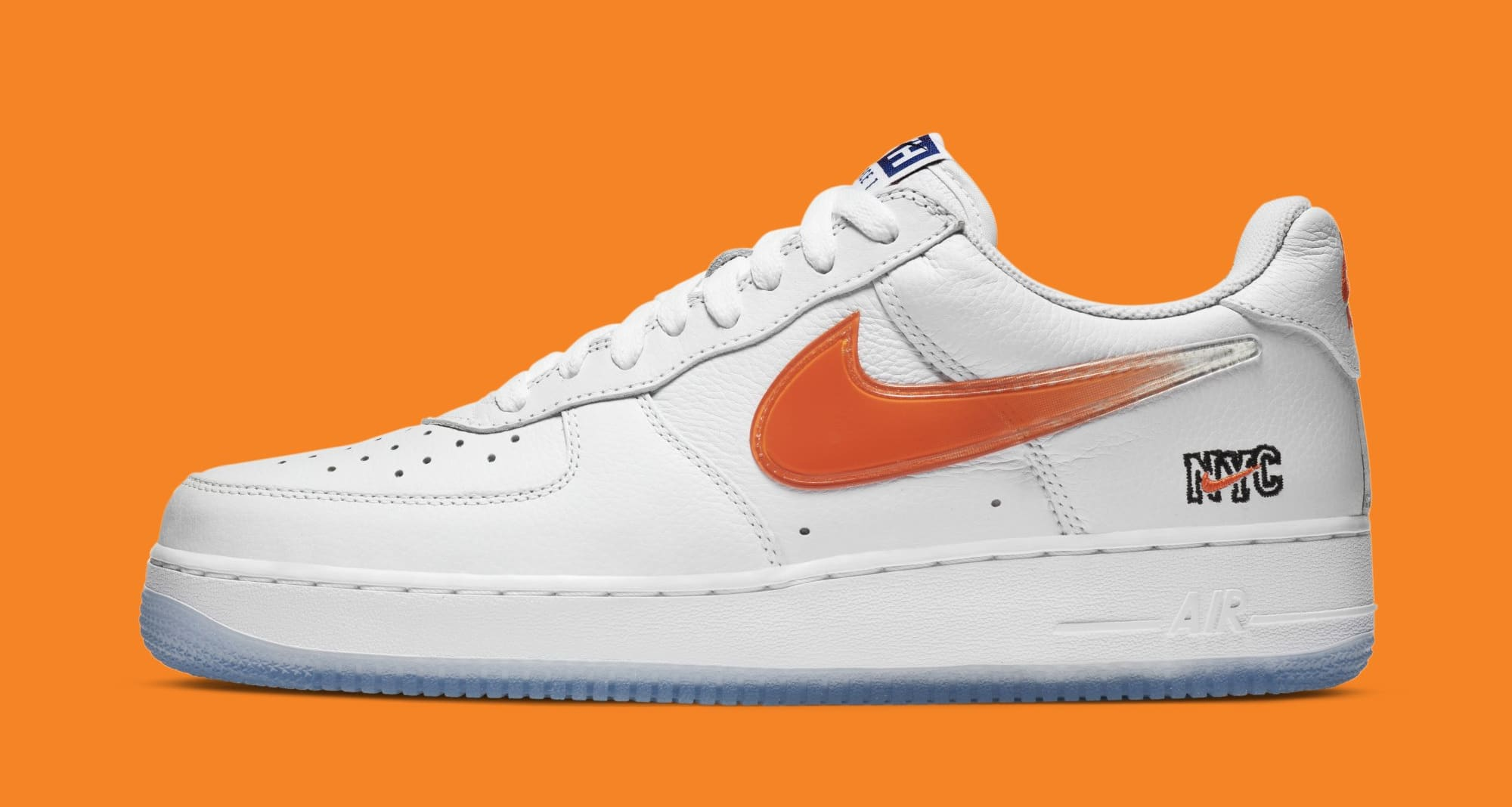 Kith x Nike Air Force 1 Low 'NYC' CZ7928-100 Lateral