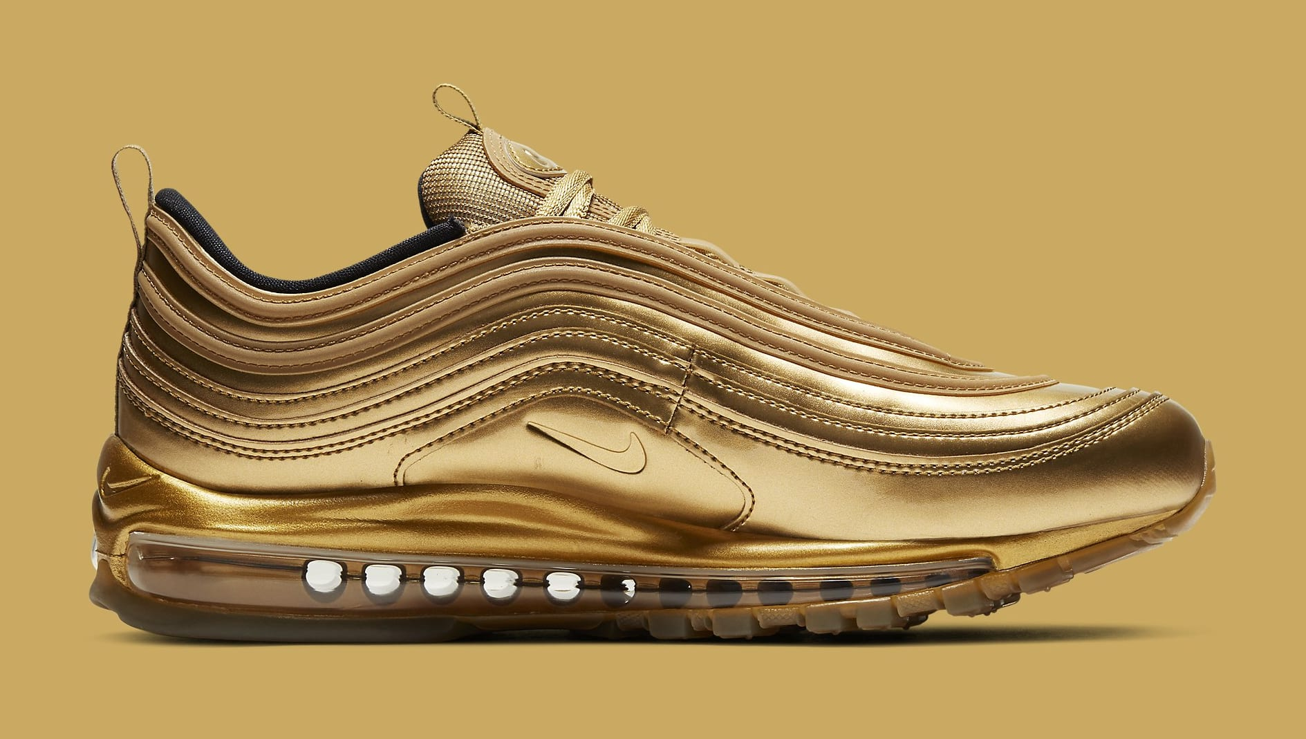 fiabilidad Irregularidades Corchete  Nike Air Max 97 'Gold' Release Date CT4556-700 | Sole Collector