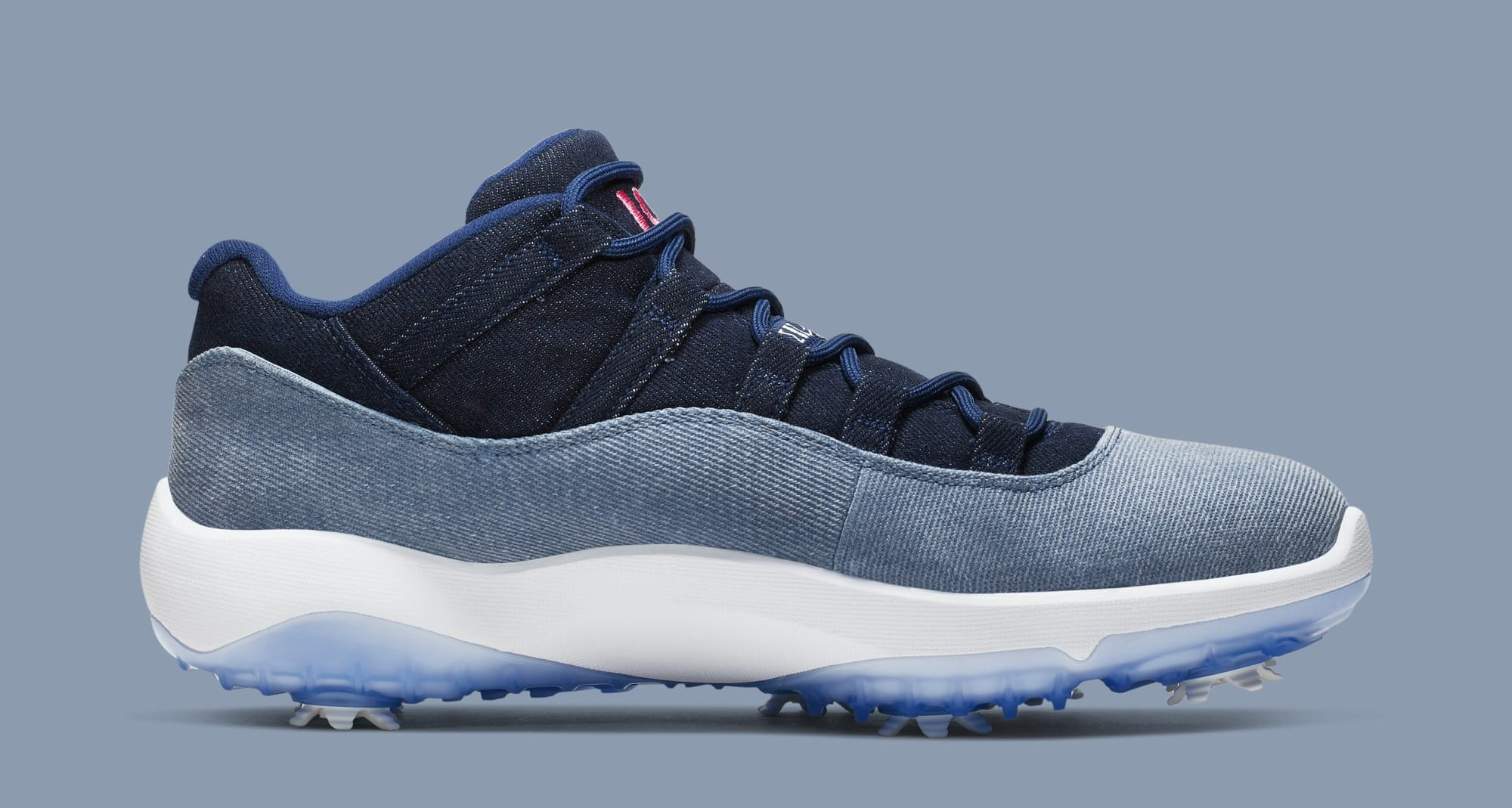 Air Jordan 11 Golf 'Denim' AQ0963-400 (Medial)