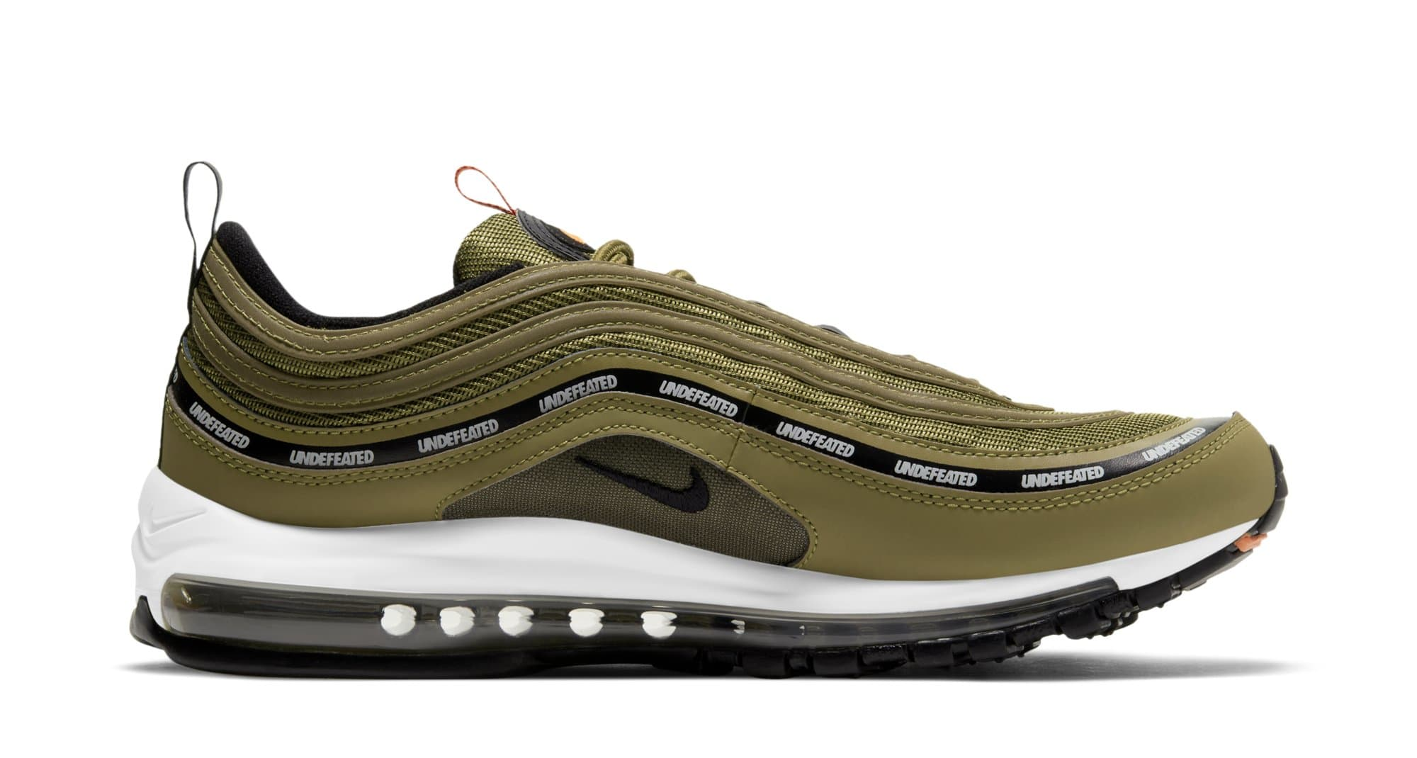 Undefeated x Nike Air Max 97 'Militia Green' DC4830-300 (Medial)