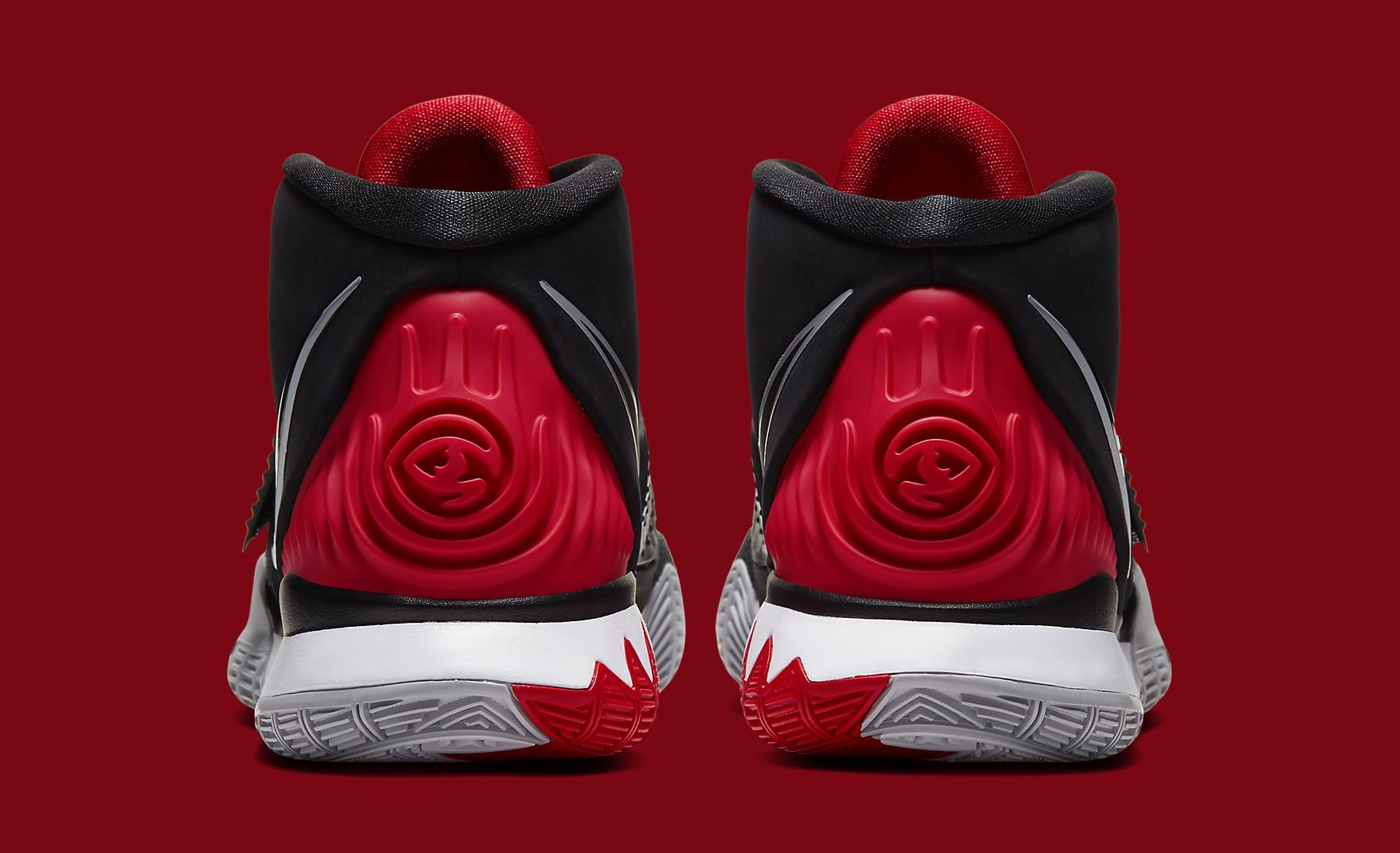 "This Nike Kyrie 6 Pays Homage To The Air Jordan 4 ""Bred:"" Details"