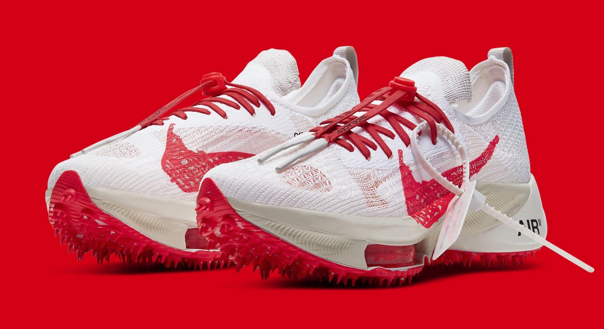 Off-White x Nike Air Zoom Tempo Next% CV0697-100 Pair