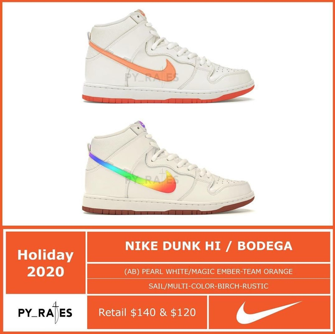 Bodega x Nike Dunk High Collaboration Mock-Up