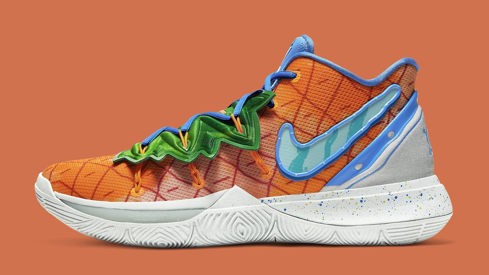 The Next SpongeBob x Kyrie 5s Look Like the Pineapple Under the Sea